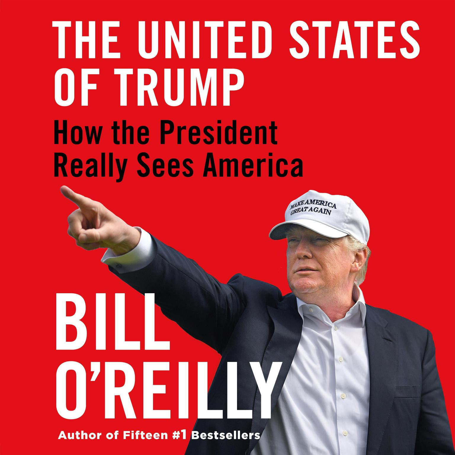 Printable The United States of Trump: How the President Really Sees America Audiobook Cover Art