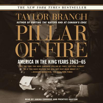 Pillar of Fire: America in the King Years 1963-65 Audiobook, by Taylor Branch
