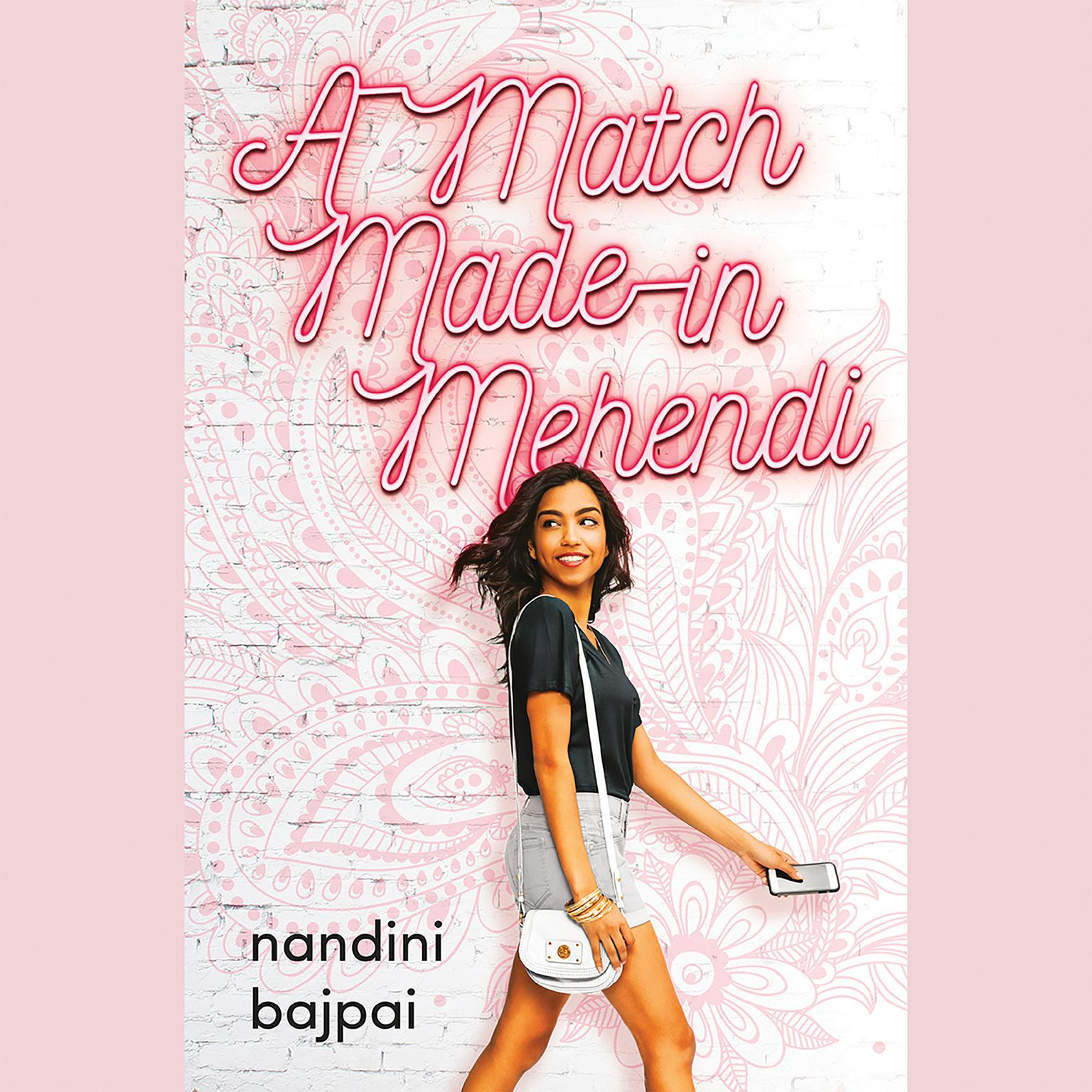 Printable A Match Made in Mehendi Audiobook Cover Art