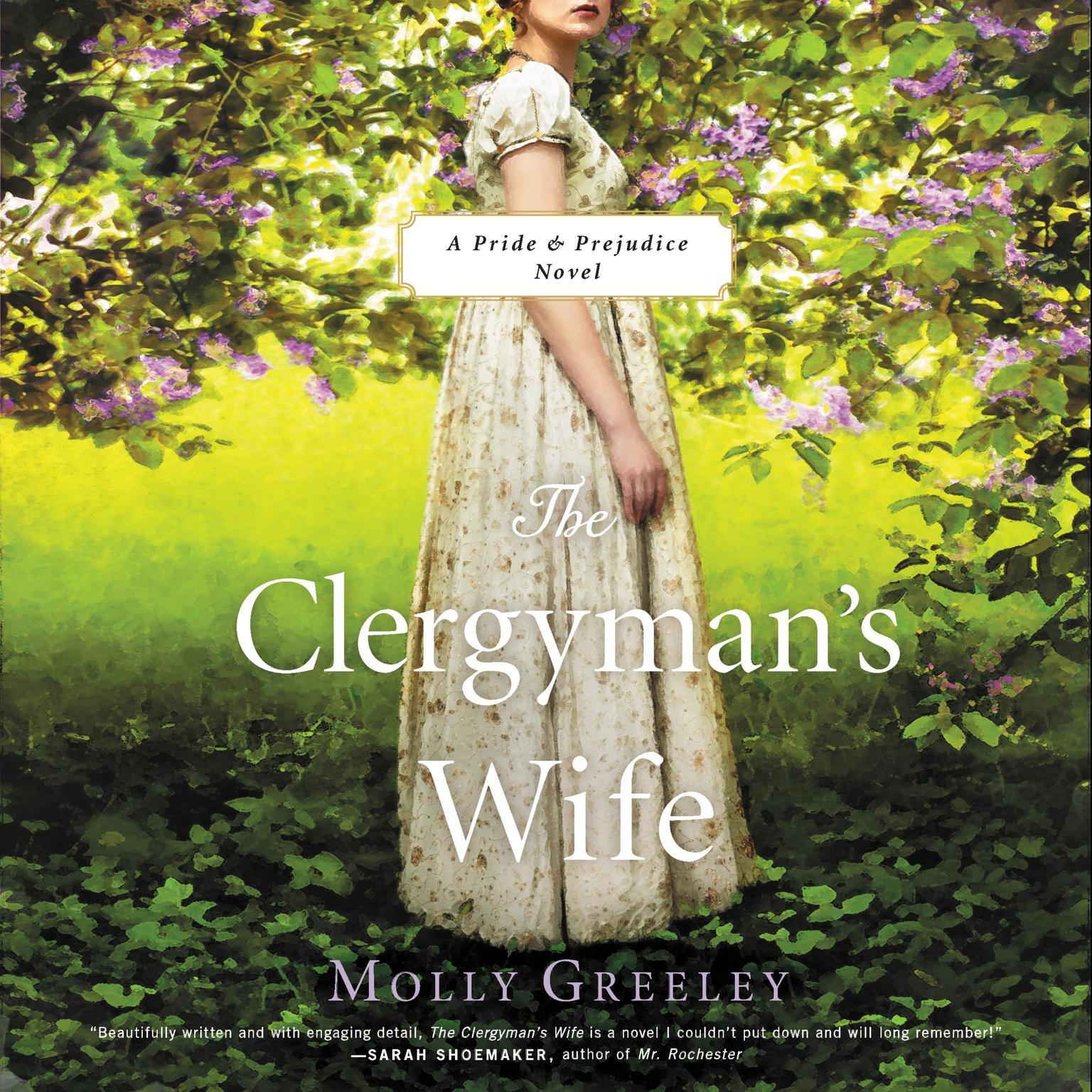 Printable The Clergyman's Wife: A Pride & Prejudice Novel Audiobook Cover Art