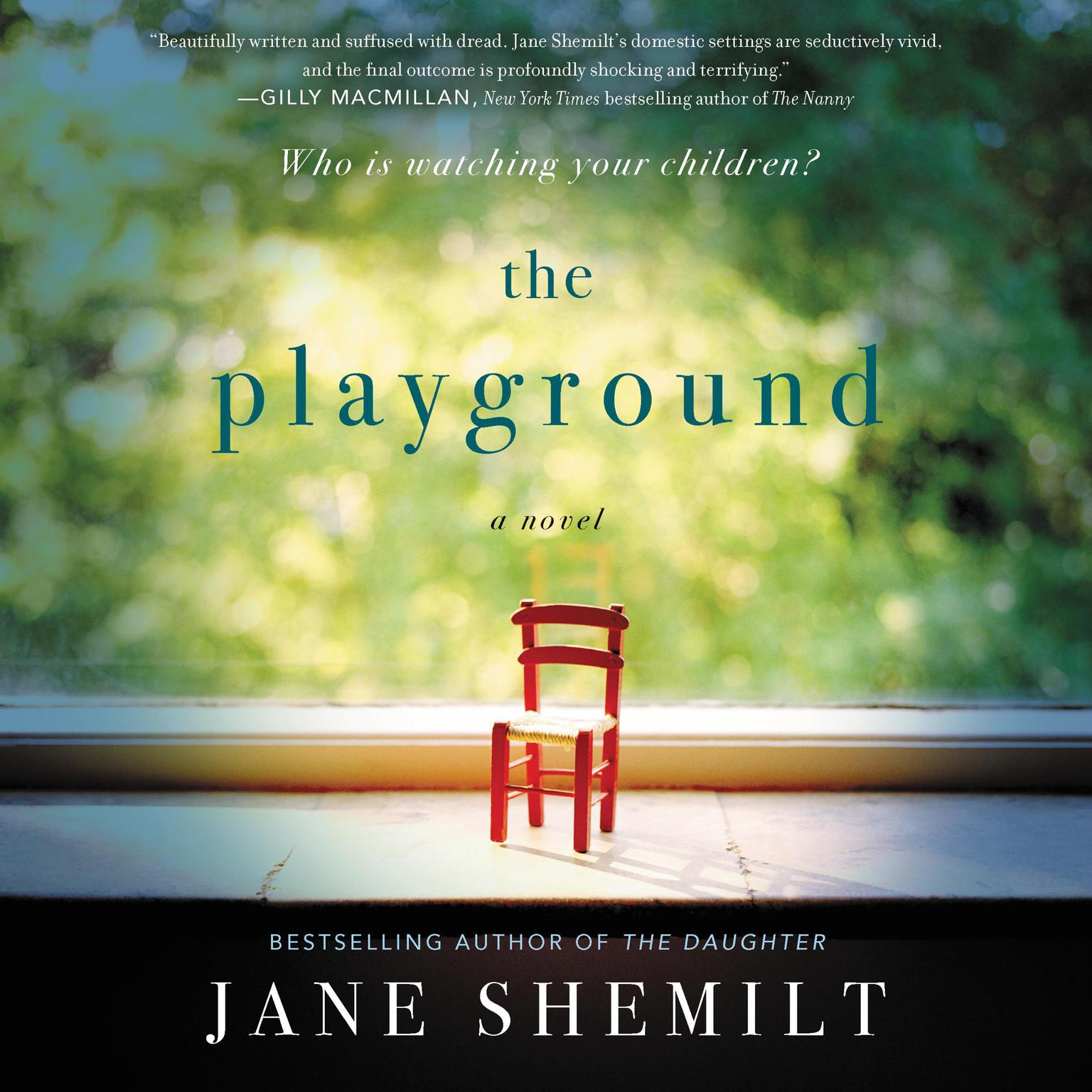 Printable The Playground: A Novel Audiobook Cover Art