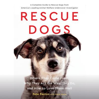 Rescue Dogs: Where They Come From, Why They Act the Way They Do, and How to Love Them Well Audiobook, by Gene Stone
