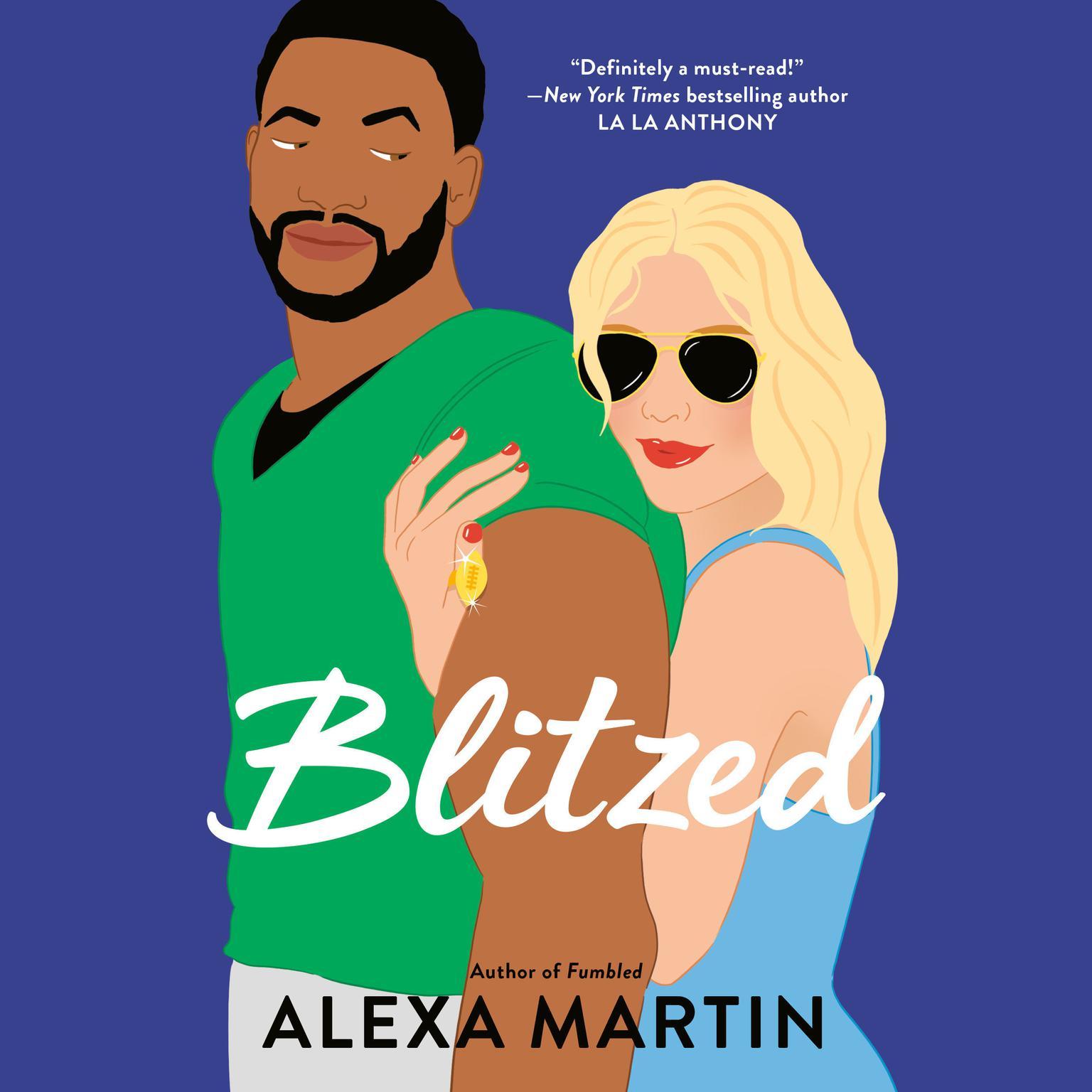 Printable Blitzed Audiobook Cover Art