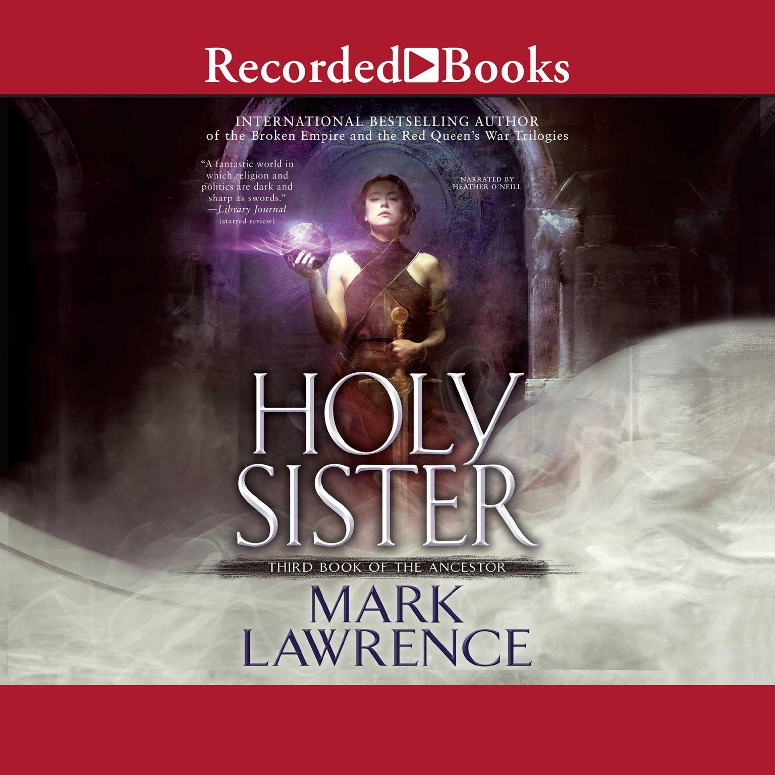 Printable Holy Sister Audiobook Cover Art