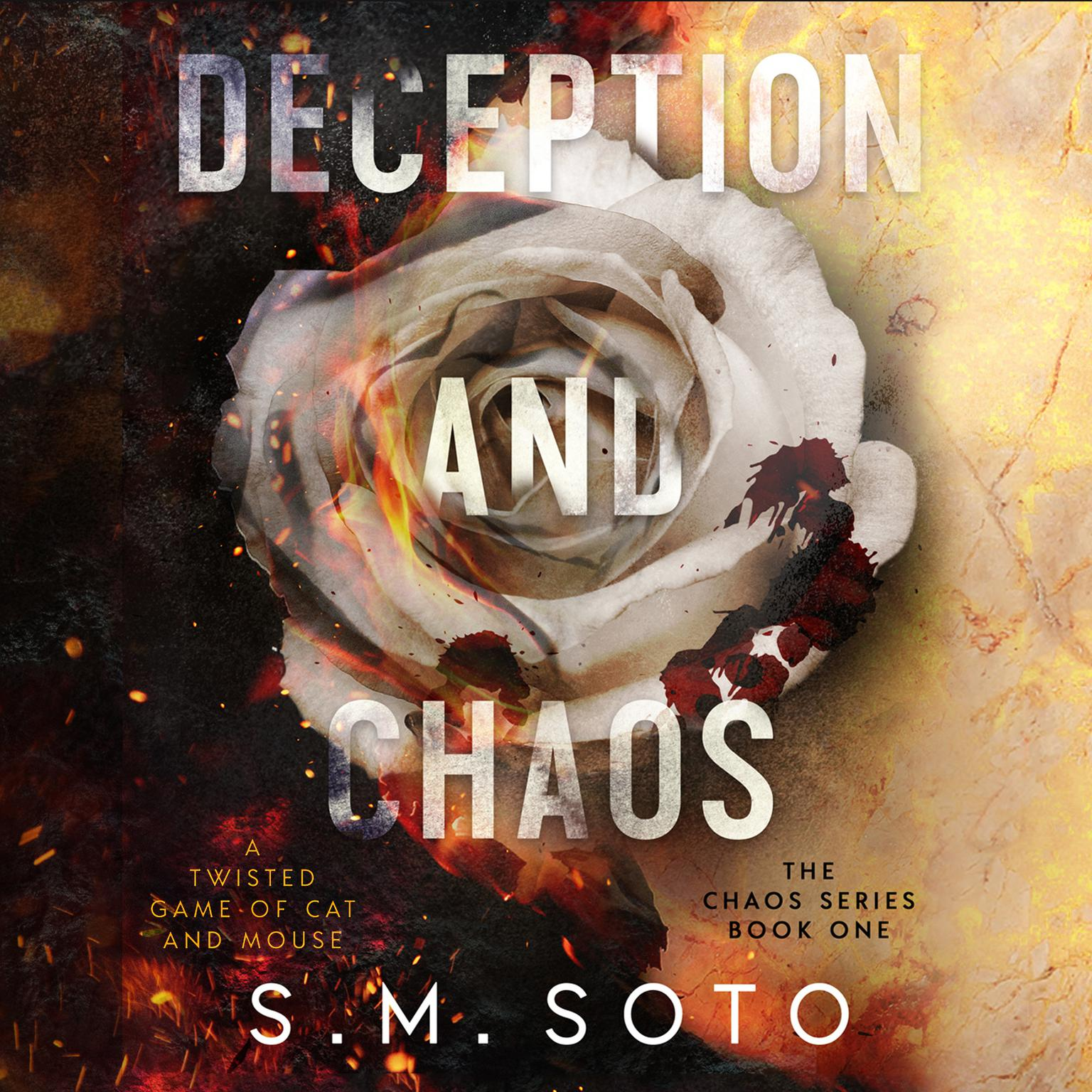Printable Deception and Chaos Audiobook Cover Art