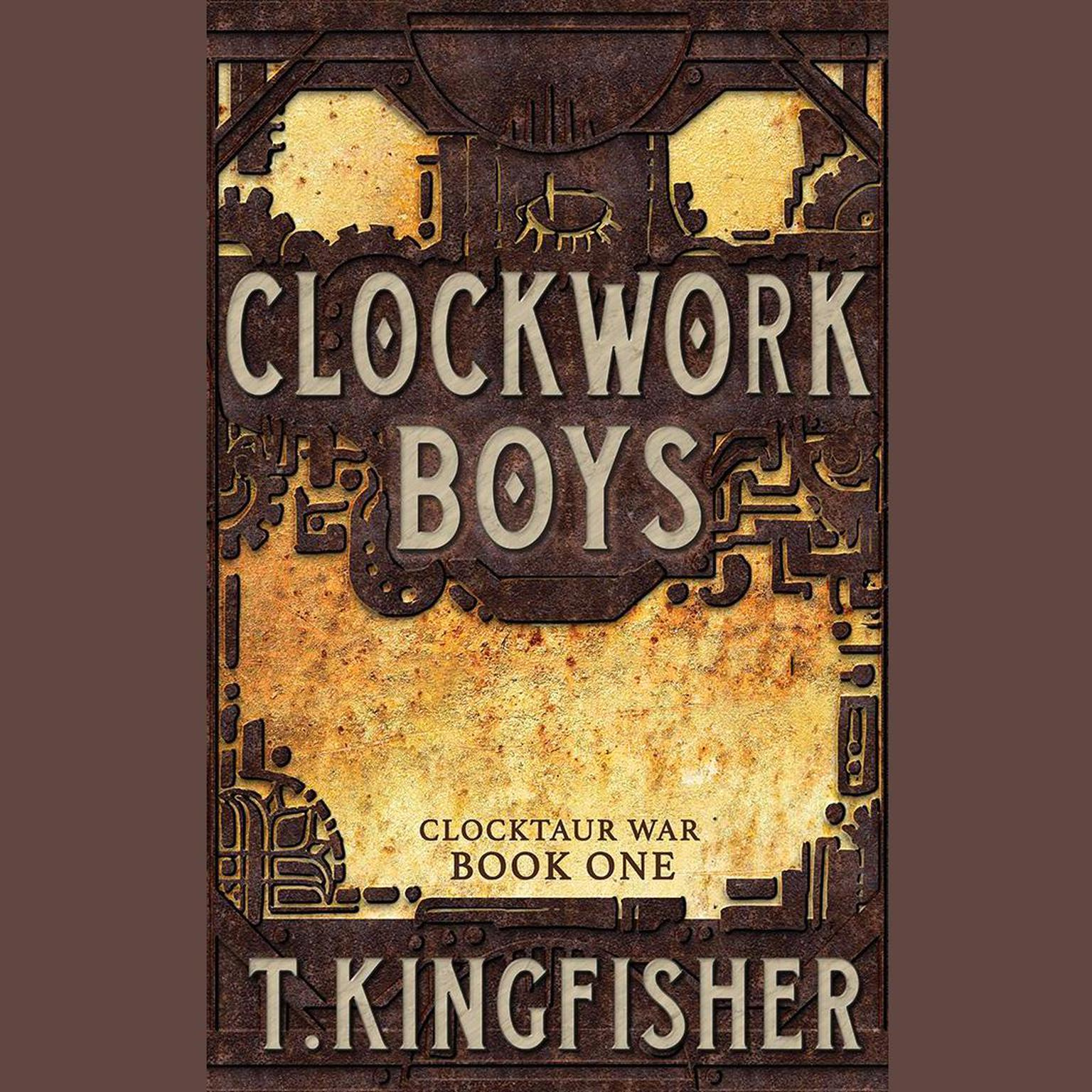 Printable Clockwork Boys Audiobook Cover Art