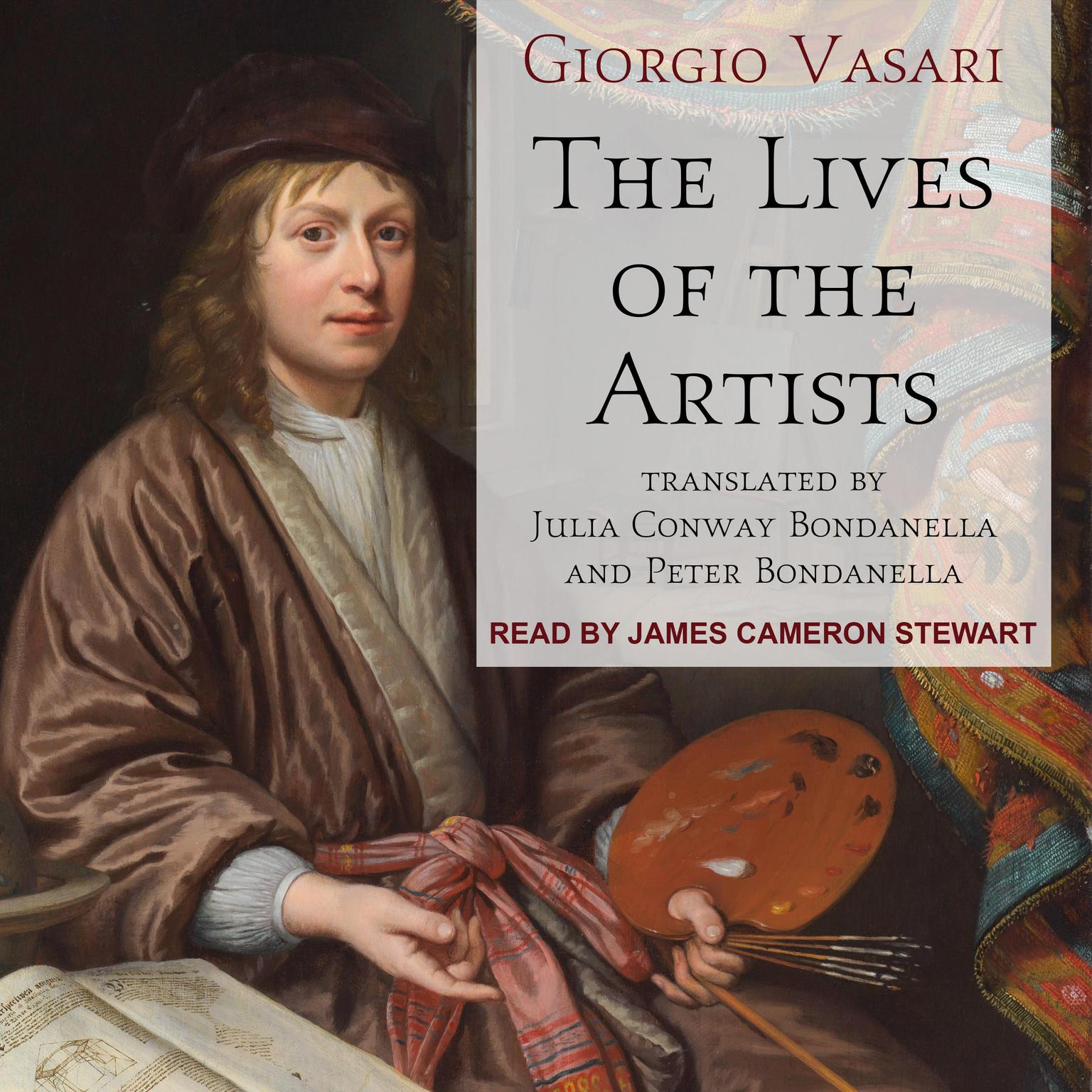 Printable The Lives of the Artists Audiobook Cover Art