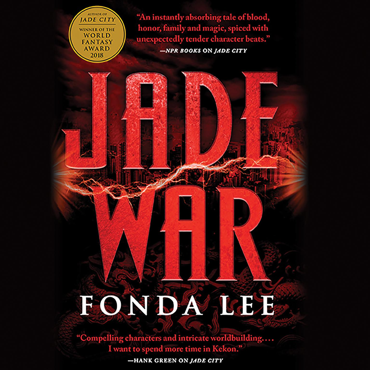 Printable Jade War Audiobook Cover Art