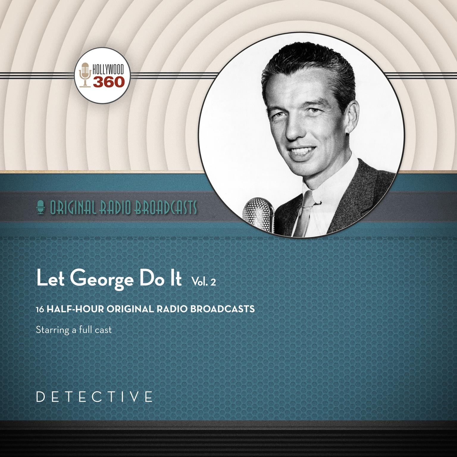 Printable Let George Do It, Vol. 2 Audiobook Cover Art