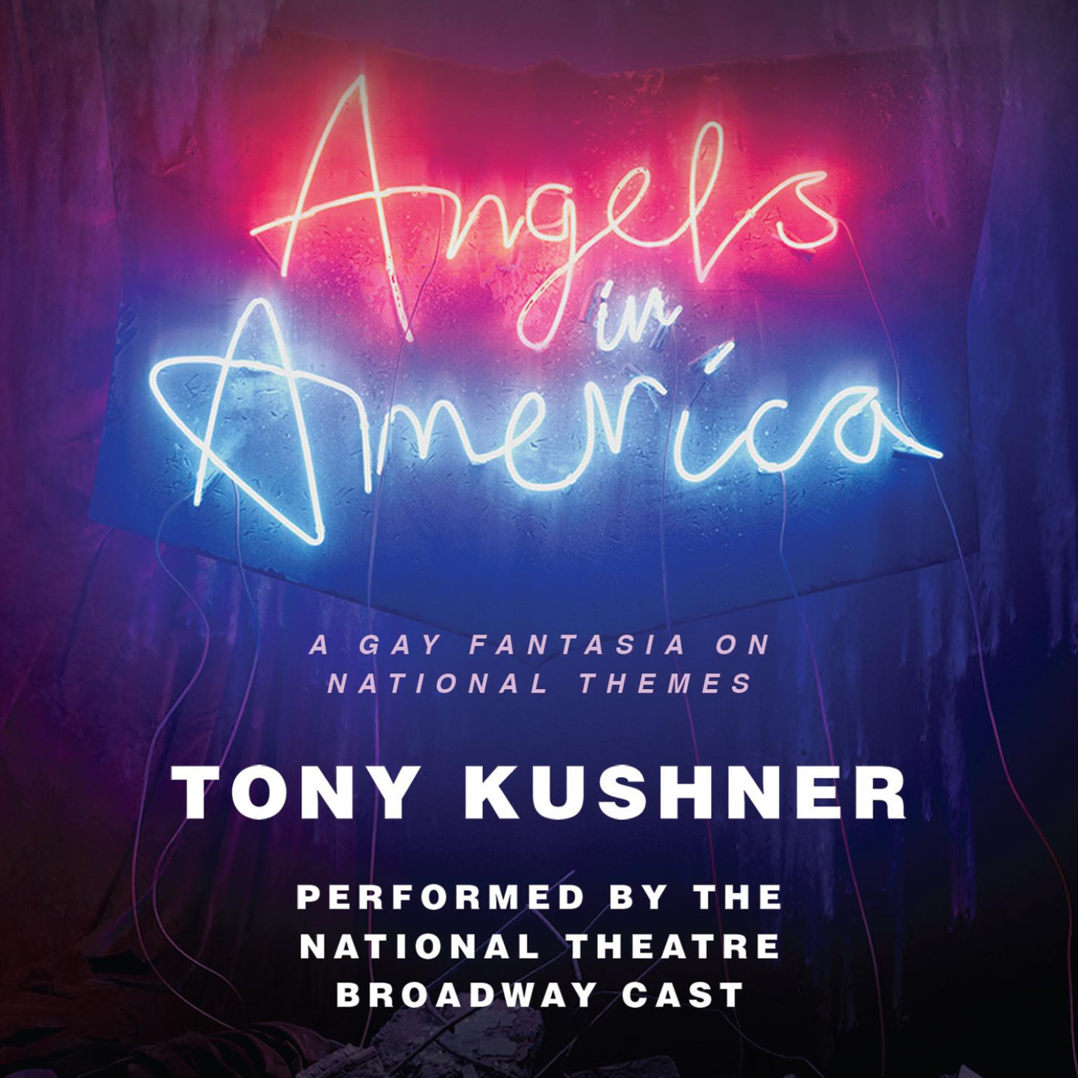 Printable Angels in America: A Gay Fantasia on National Themes Audiobook Cover Art