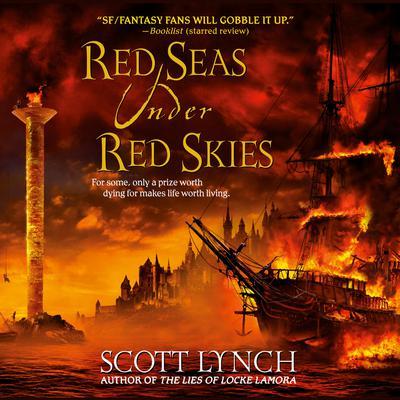 Red Seas Under Red Skies Audiobook, by