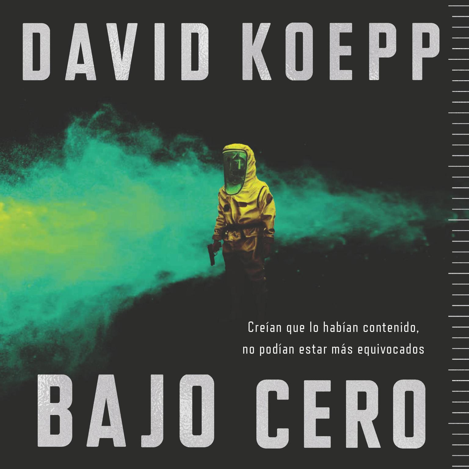 Printable Cold Storage  Bajo cero (Spanish edition) Audiobook Cover Art