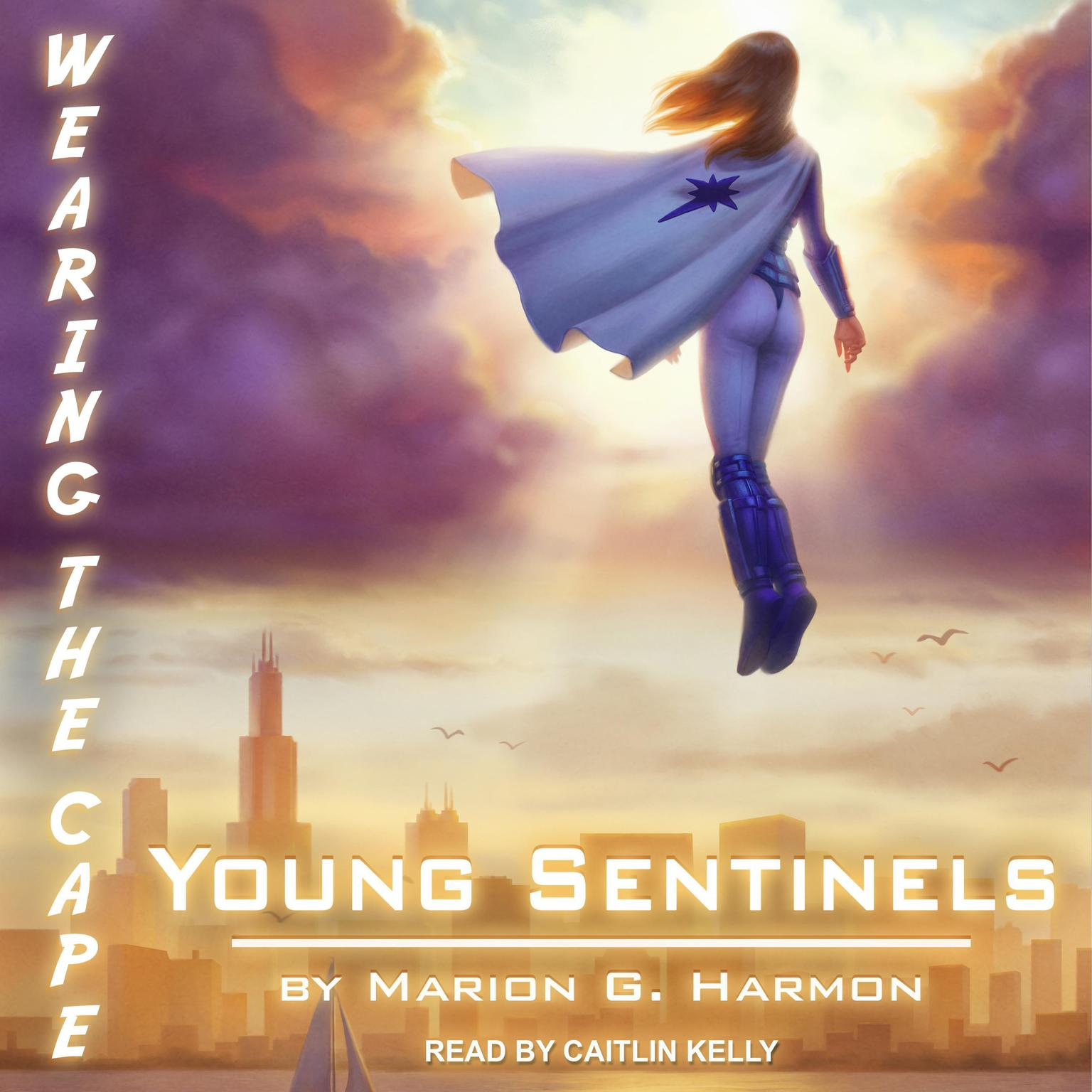 Printable Young Sentinels Audiobook Cover Art