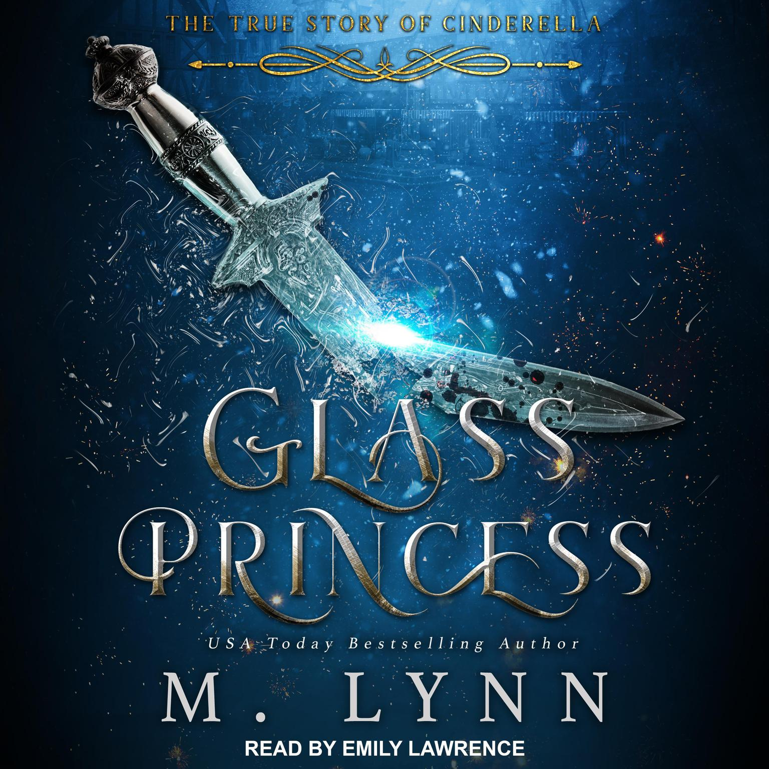 Printable Glass Princess Audiobook Cover Art