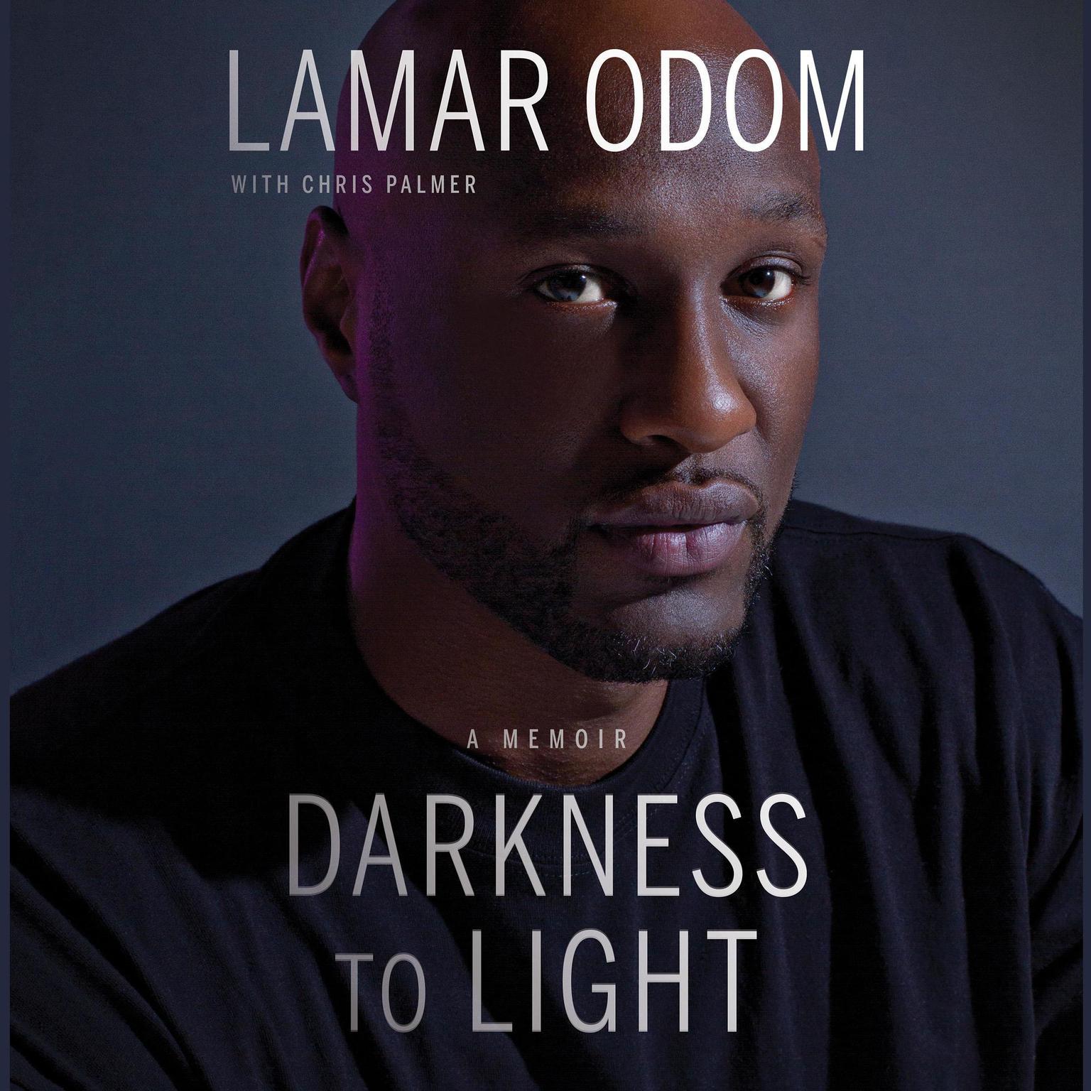 Printable Darkness to Light: A Memoir Audiobook Cover Art