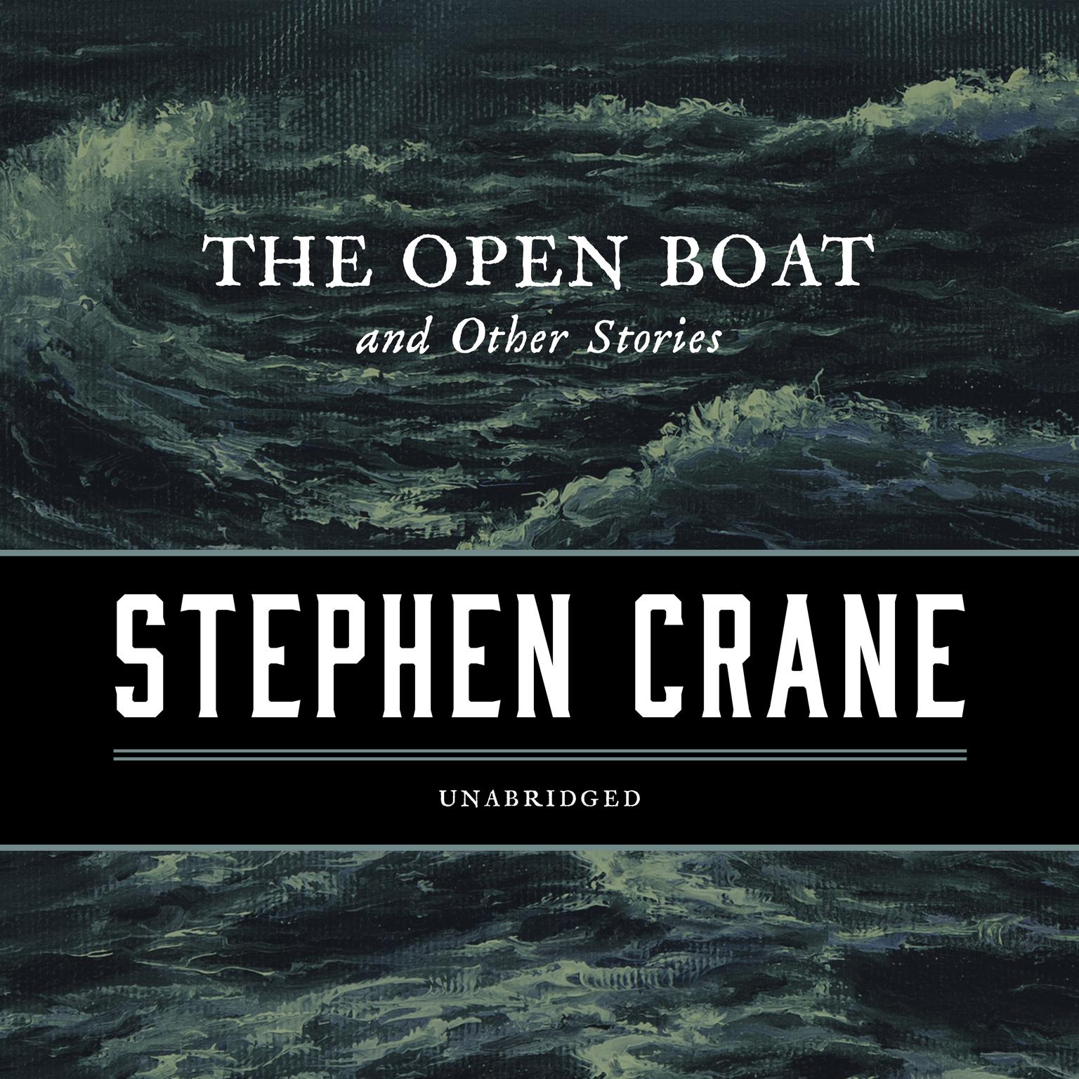 Printable The Open Boat, and Other Stories Audiobook Cover Art