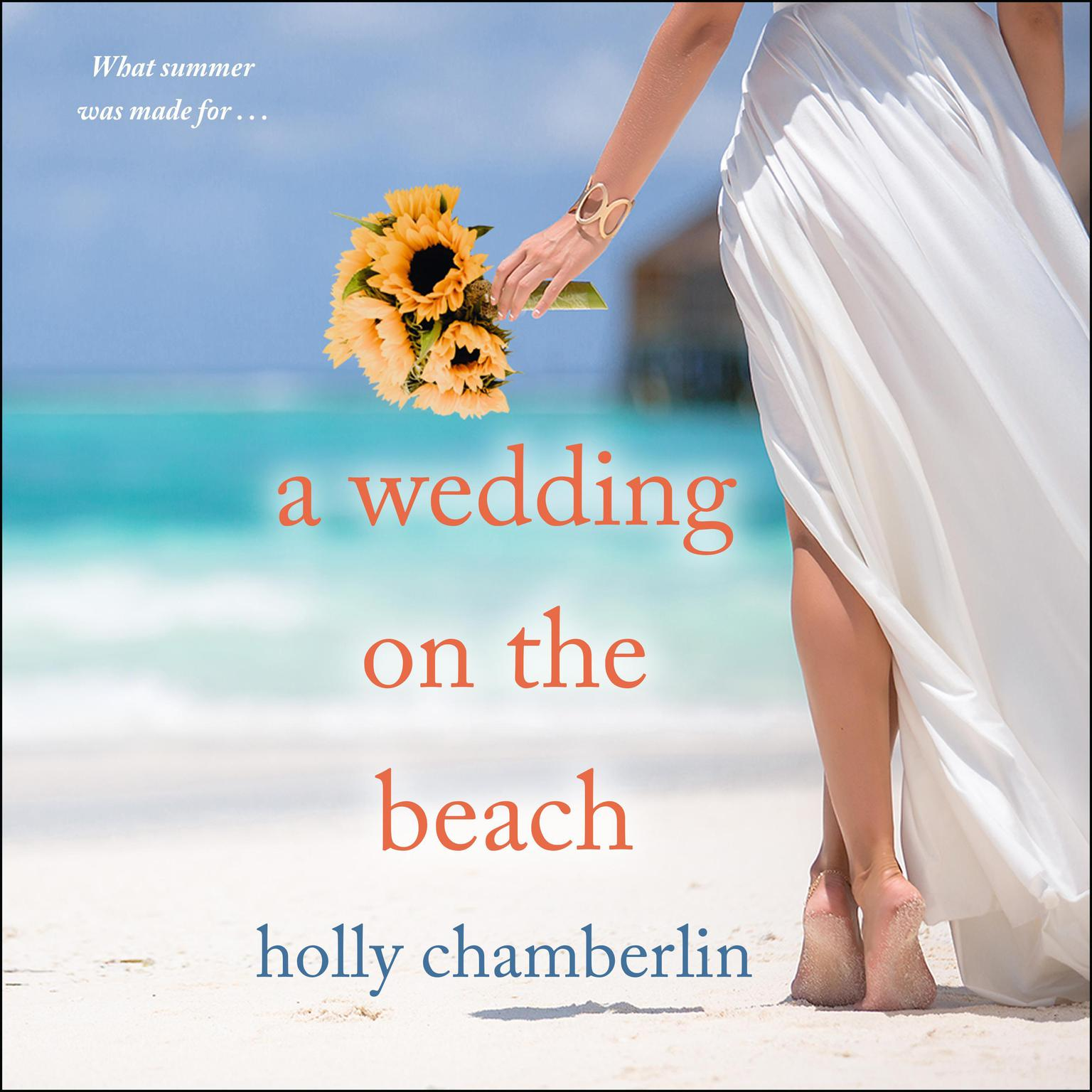 A Wedding on the Beach Audiobook, by Holly Chamberlin
