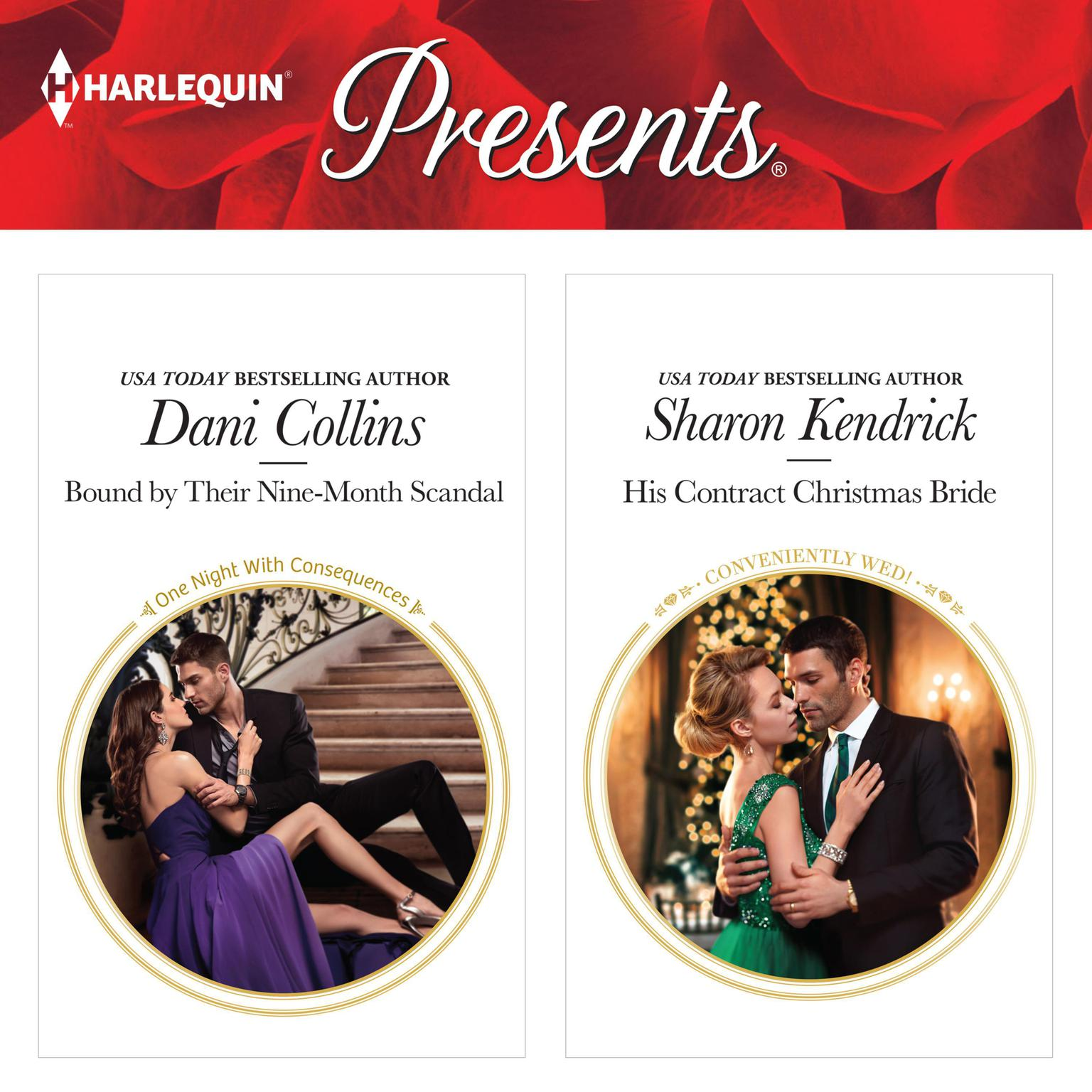 Bound by Their Nine-Month Scandal & His Contract Christmas Bride Audiobook, by Dani Collins