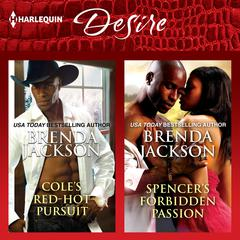 Cole's Red-Hot Pursuit & Spencer's Forbidden Passion Audiobook, by Brenda Jackson