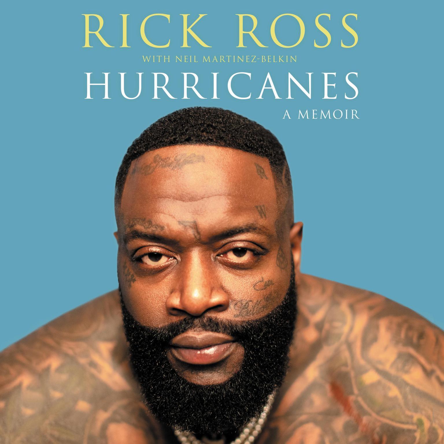 Printable Hurricanes: A Memoir Audiobook Cover Art