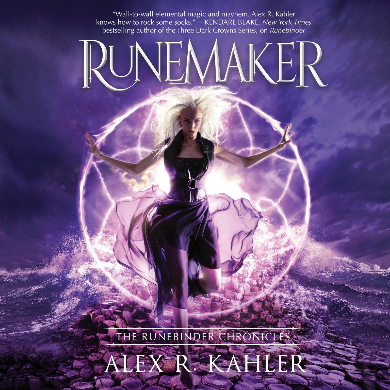 Printable Runemaker Audiobook Cover Art