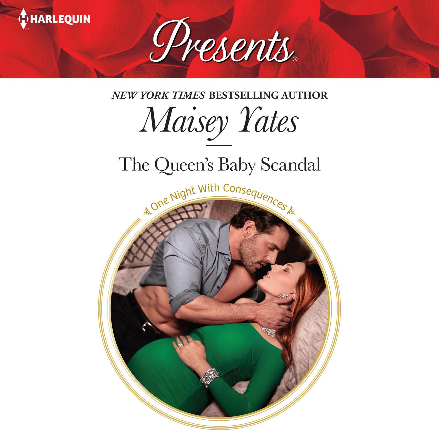 Printable The Queen's Baby Scandal Audiobook Cover Art