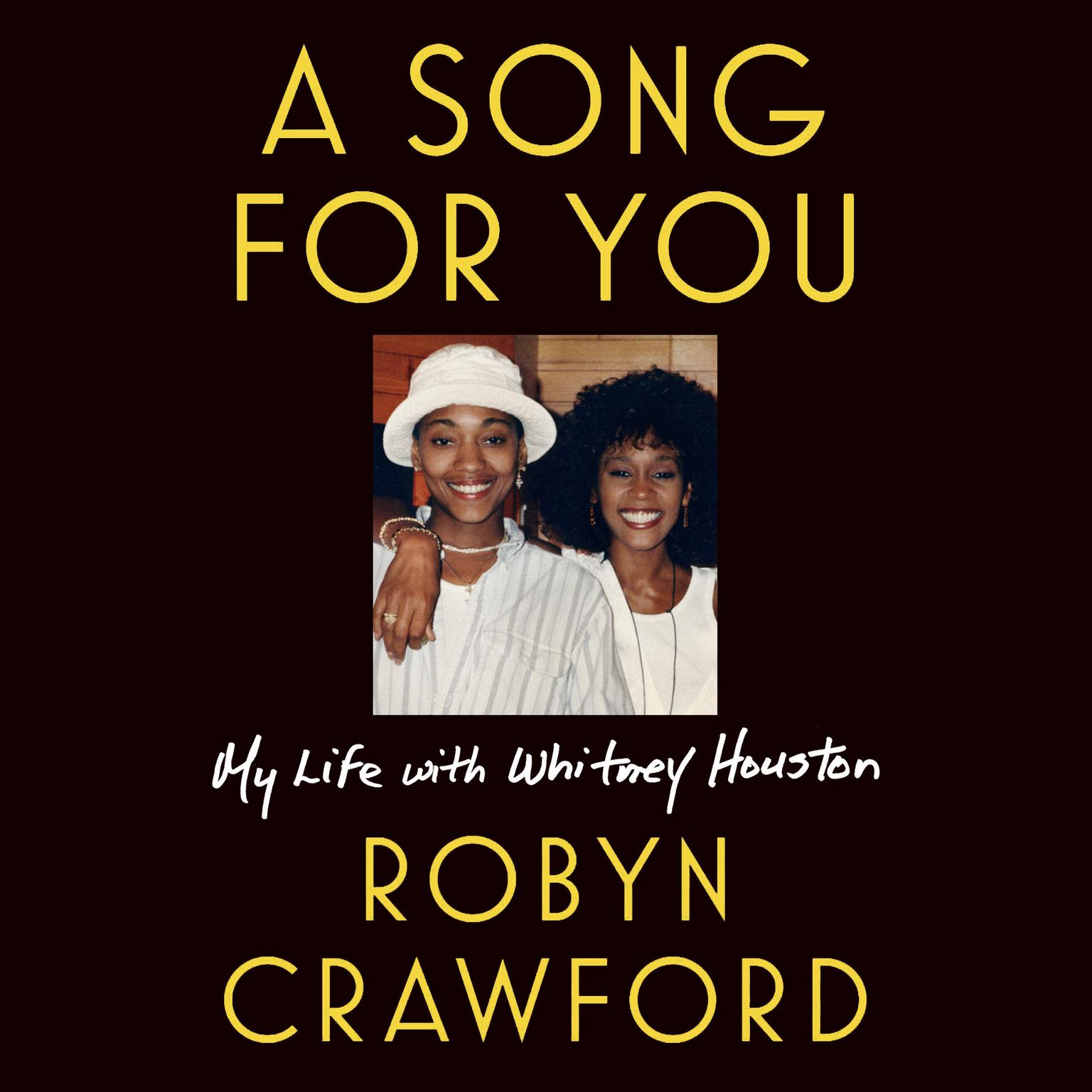 Printable A Song for You: My Life with Whitney Houston Audiobook Cover Art