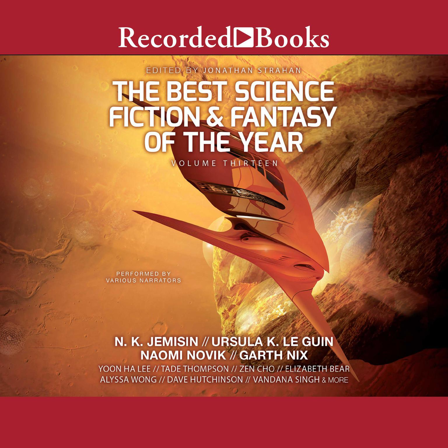 Printable The Best Science Fiction and Fantasy of the Year Volume 13 Audiobook Cover Art