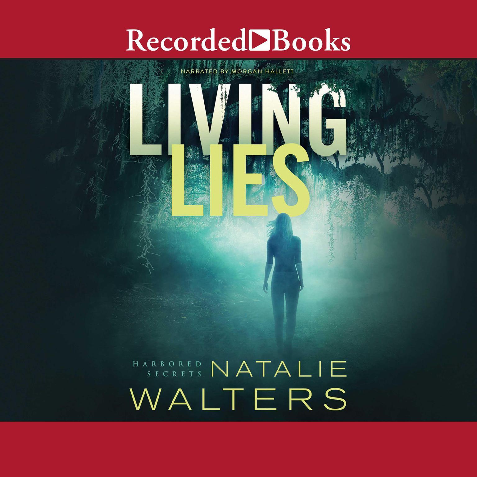 Printable Living Lies Audiobook Cover Art