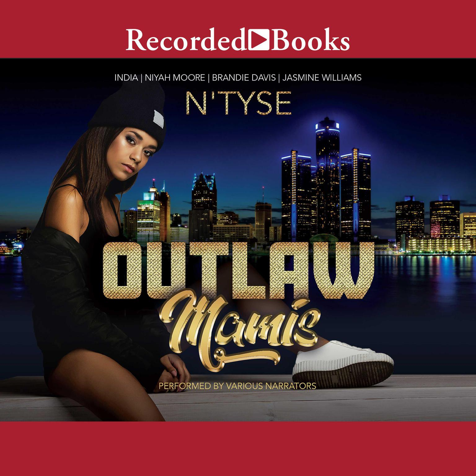 Printable Outlaw Mamis Audiobook Cover Art