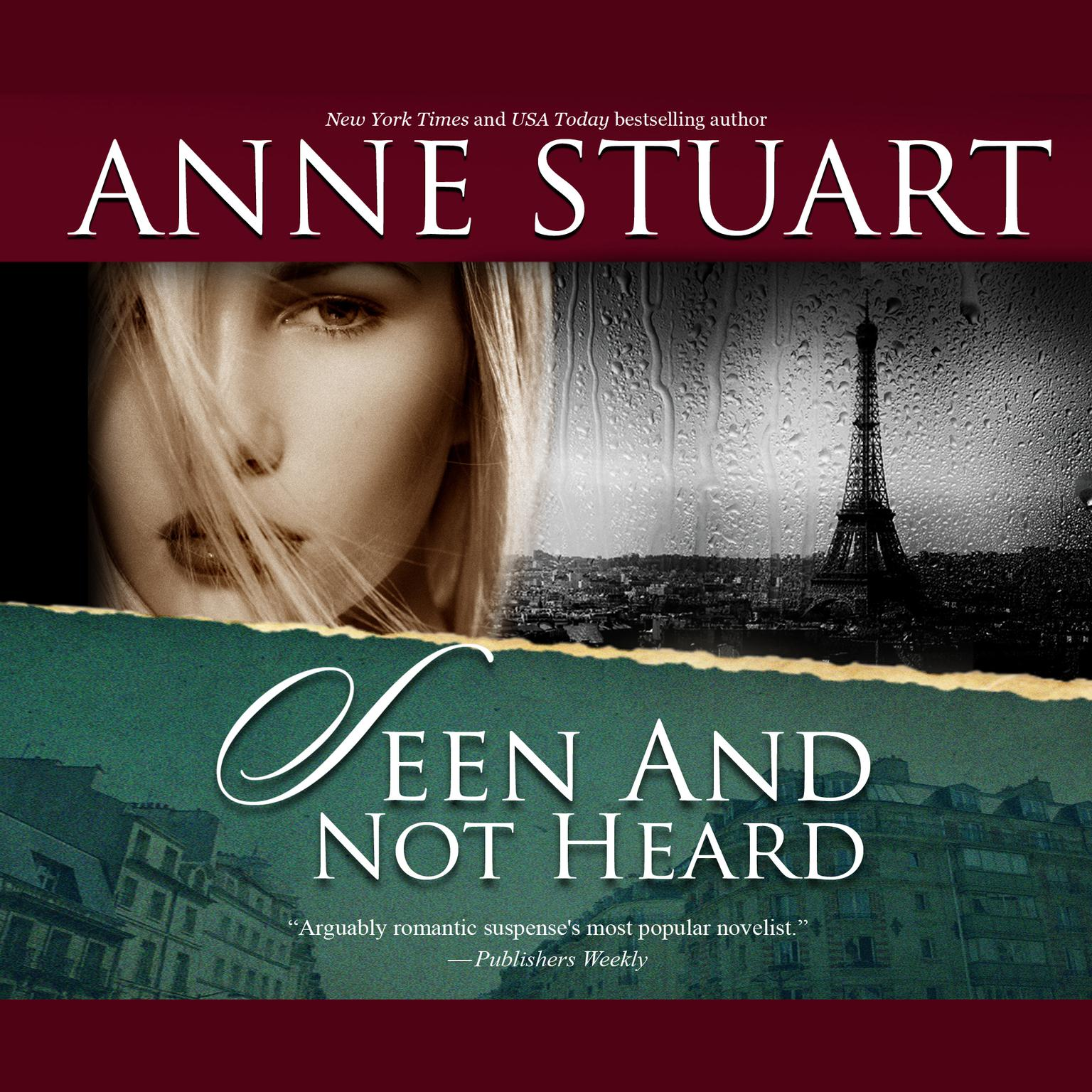 Printable Seen and Not Heard Audiobook Cover Art