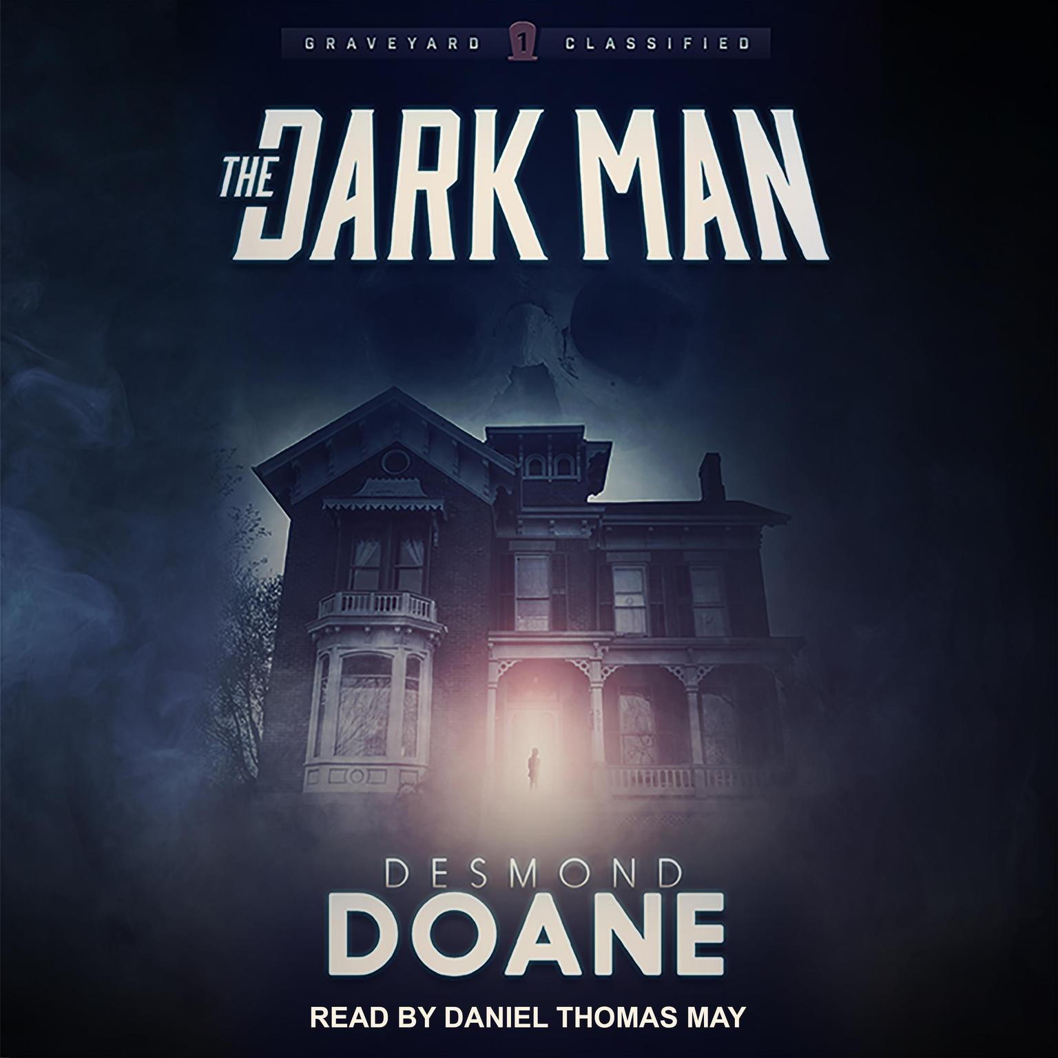 Printable The Dark Man Audiobook Cover Art