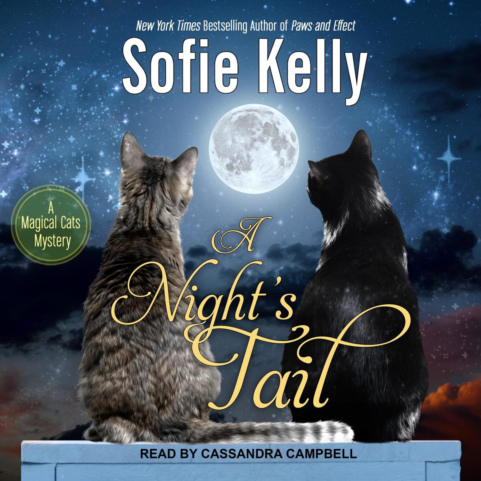 Printable A Night's Tail Audiobook Cover Art