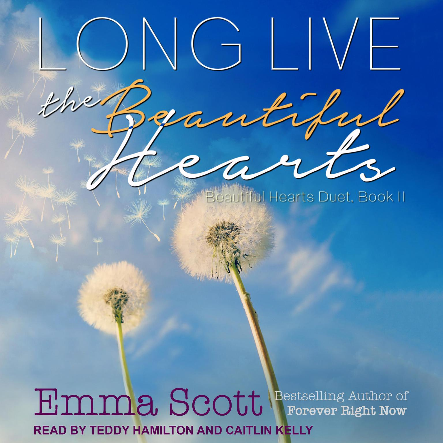 Printable Long Live the Beautiful Hearts Audiobook Cover Art