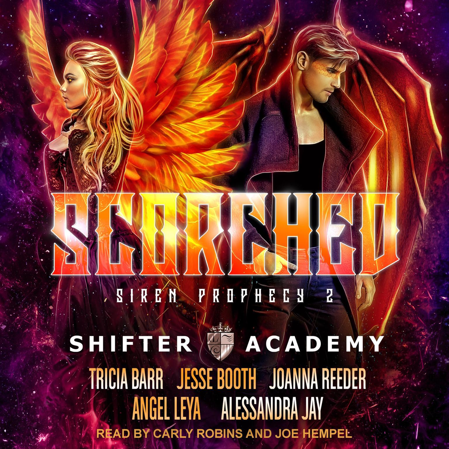 Printable Scorched: Siren Prophecy 2 Audiobook Cover Art