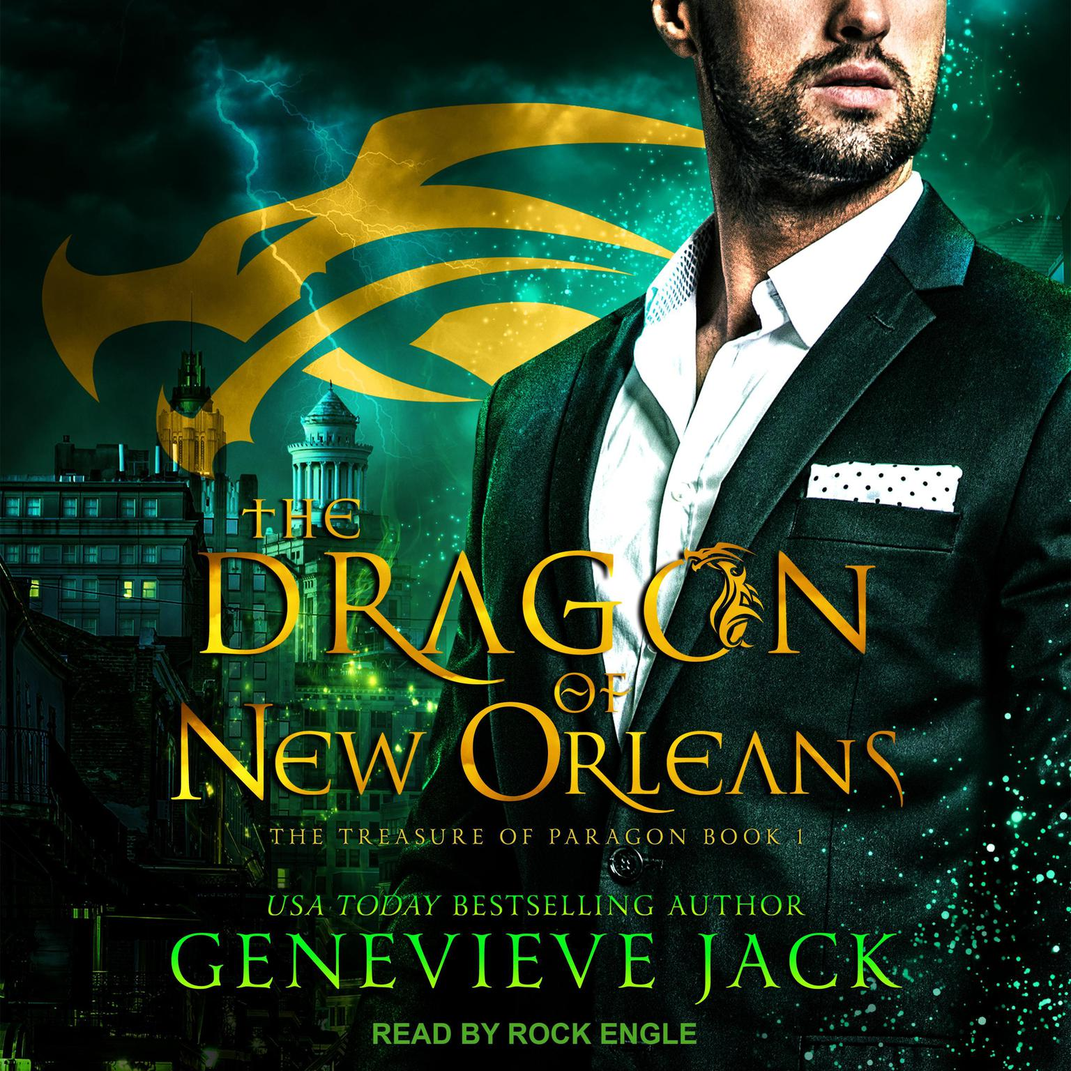Printable The Dragon of New Orleans Audiobook Cover Art
