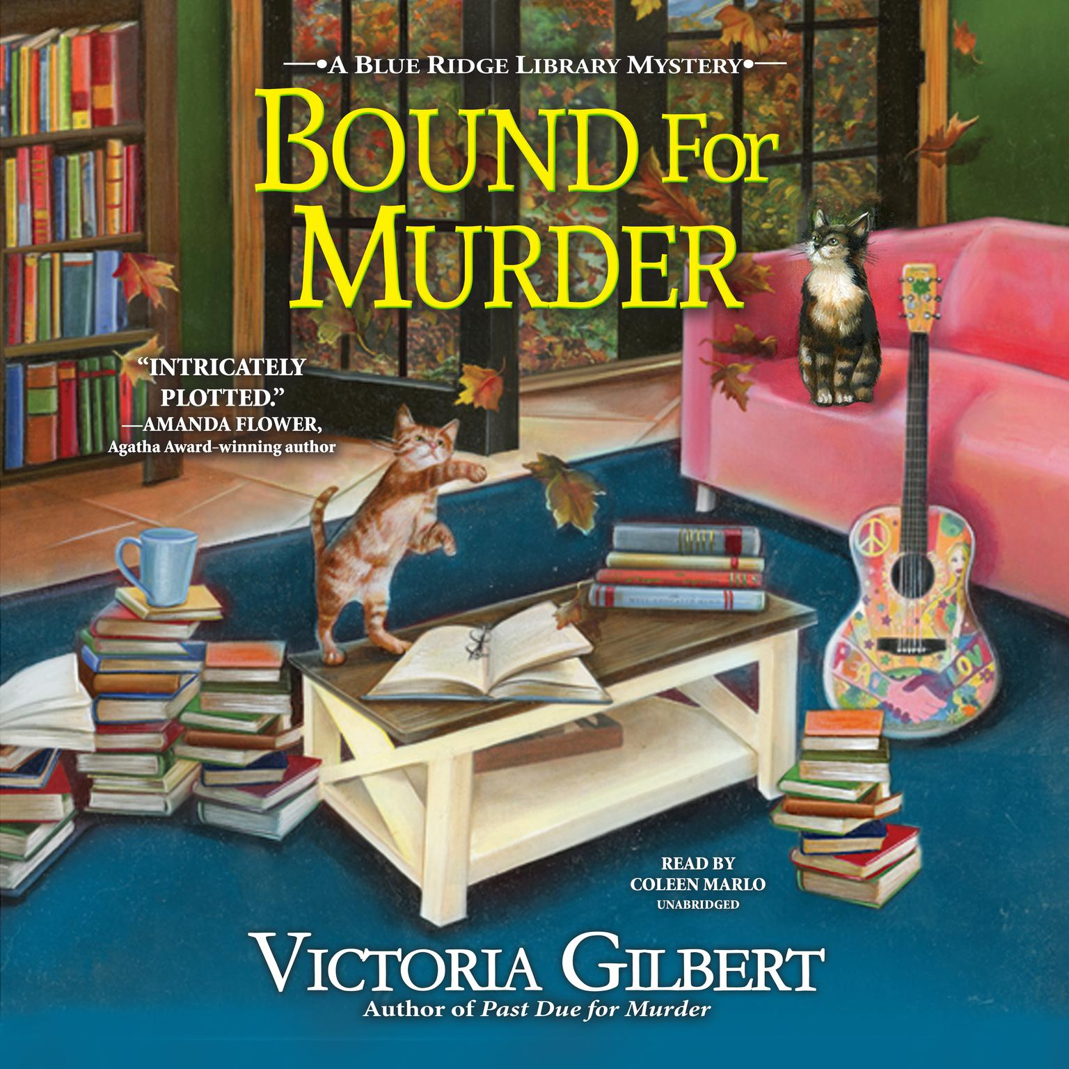 Bound for Murder: A Blue Ridge Library Mystery Audiobook, by Victoria Gilbert