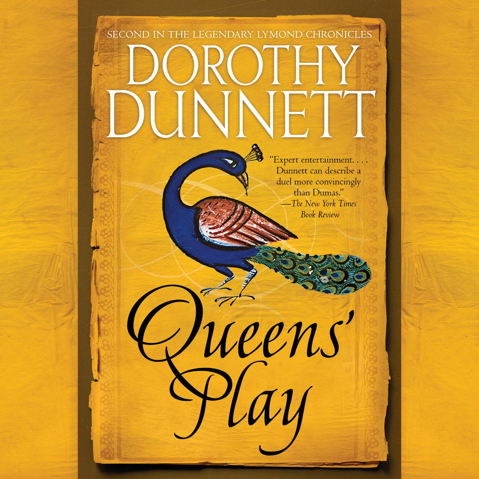 Printable Queens' Play: Book Two in the Legendary Lymond Chronicles Audiobook Cover Art