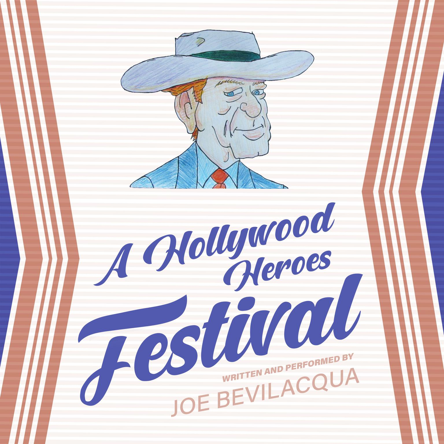 Printable A Hollywood Heroes Festival Audiobook Cover Art