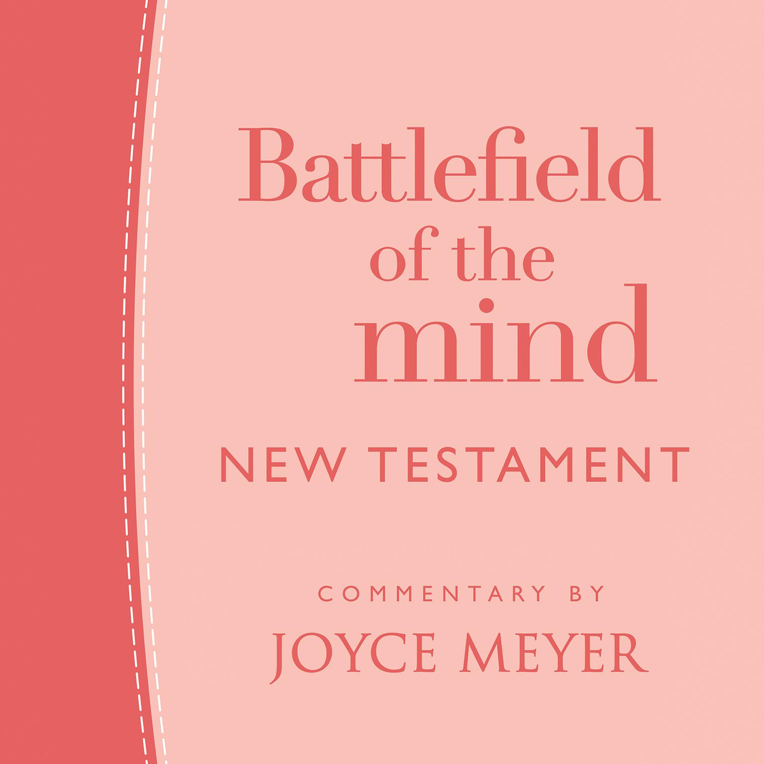 Printable Battlefield of the Mind New Testament Audiobook Cover Art