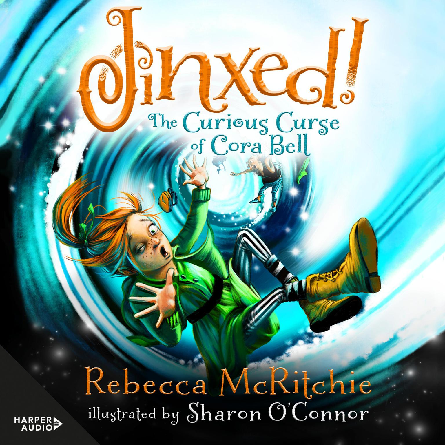Printable Jinxed!: The Curious Curse of Cora Bell (Jinxed, #1) Audiobook Cover Art