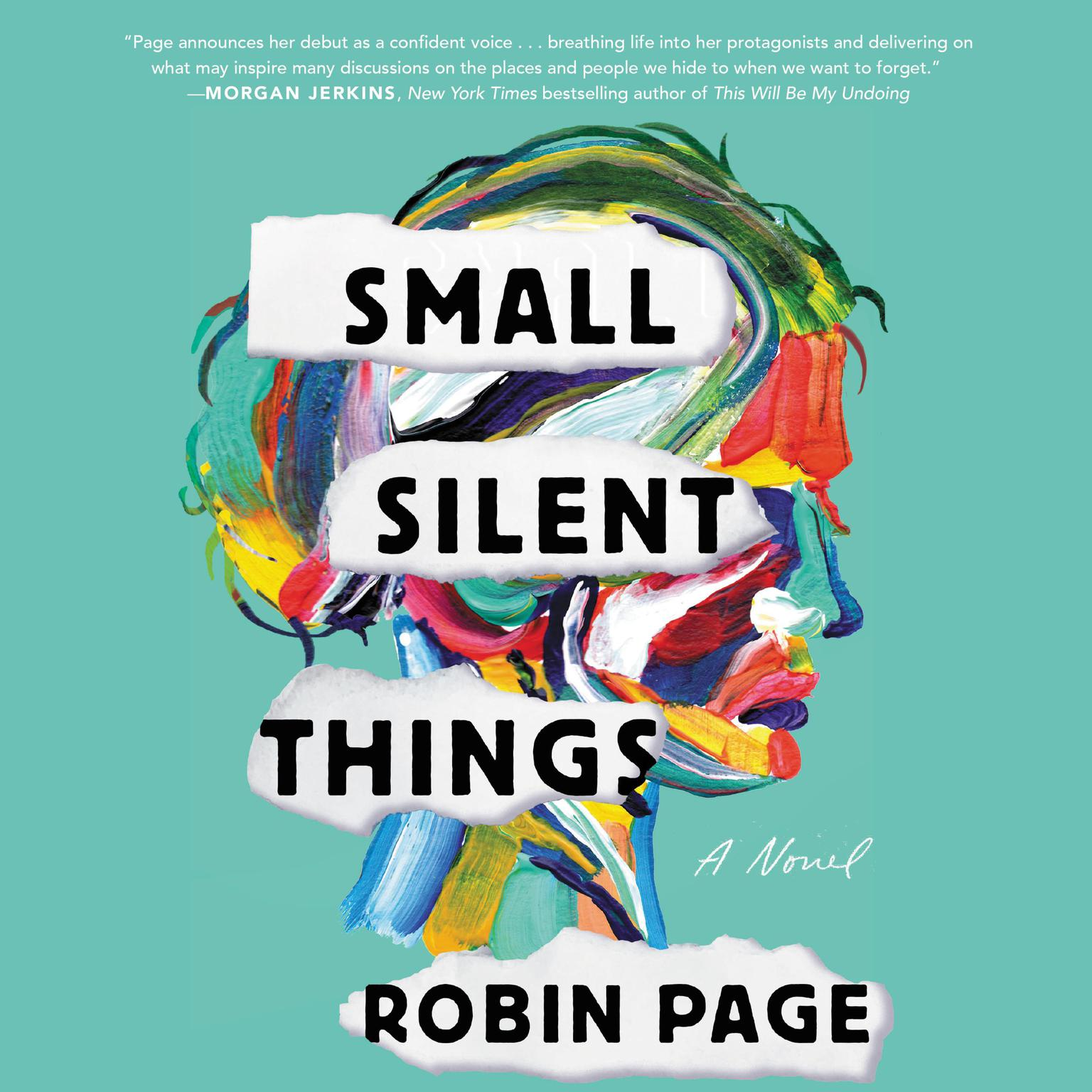 Printable Small Silent Things: A Novel Audiobook Cover Art