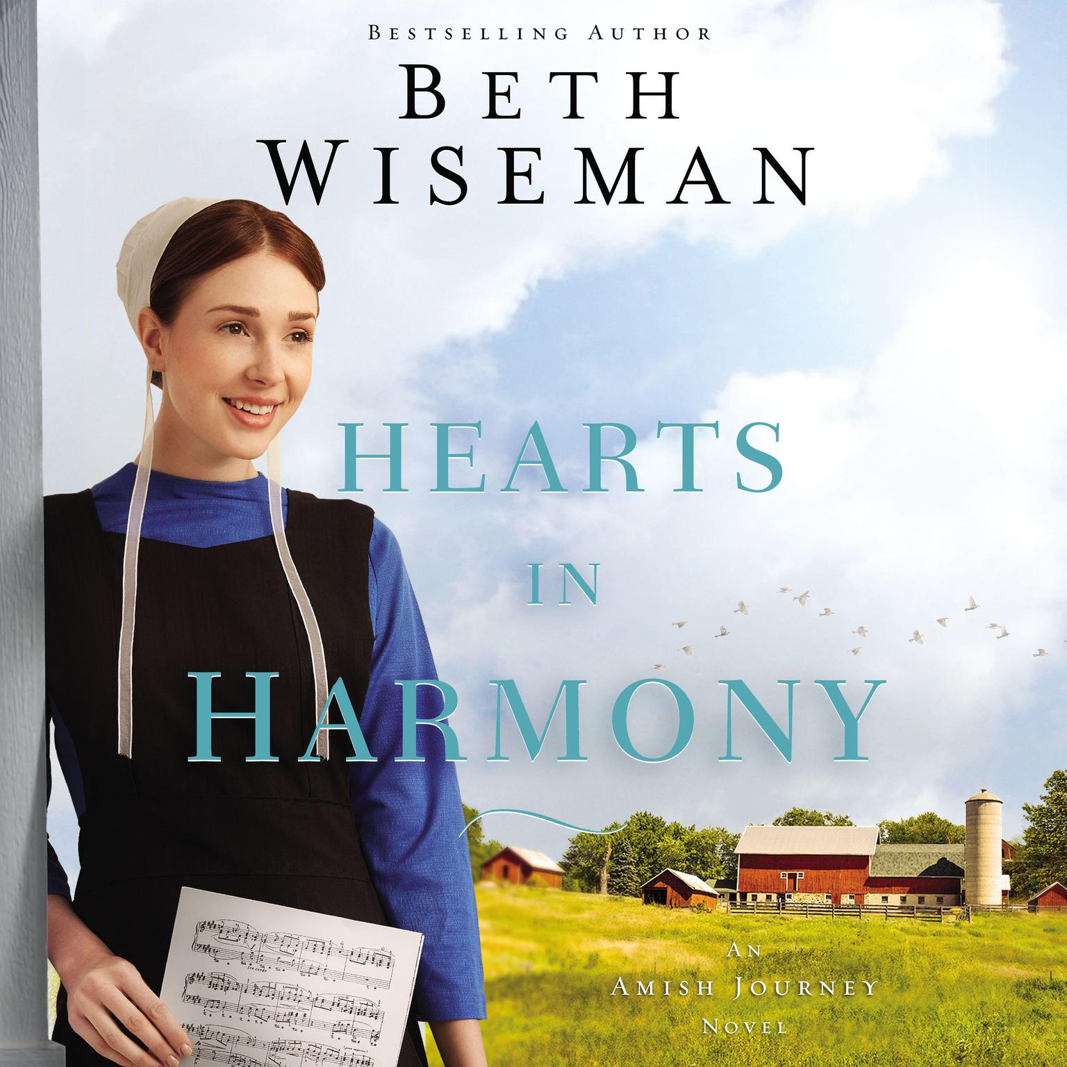 Printable Hearts in Harmony Audiobook Cover Art