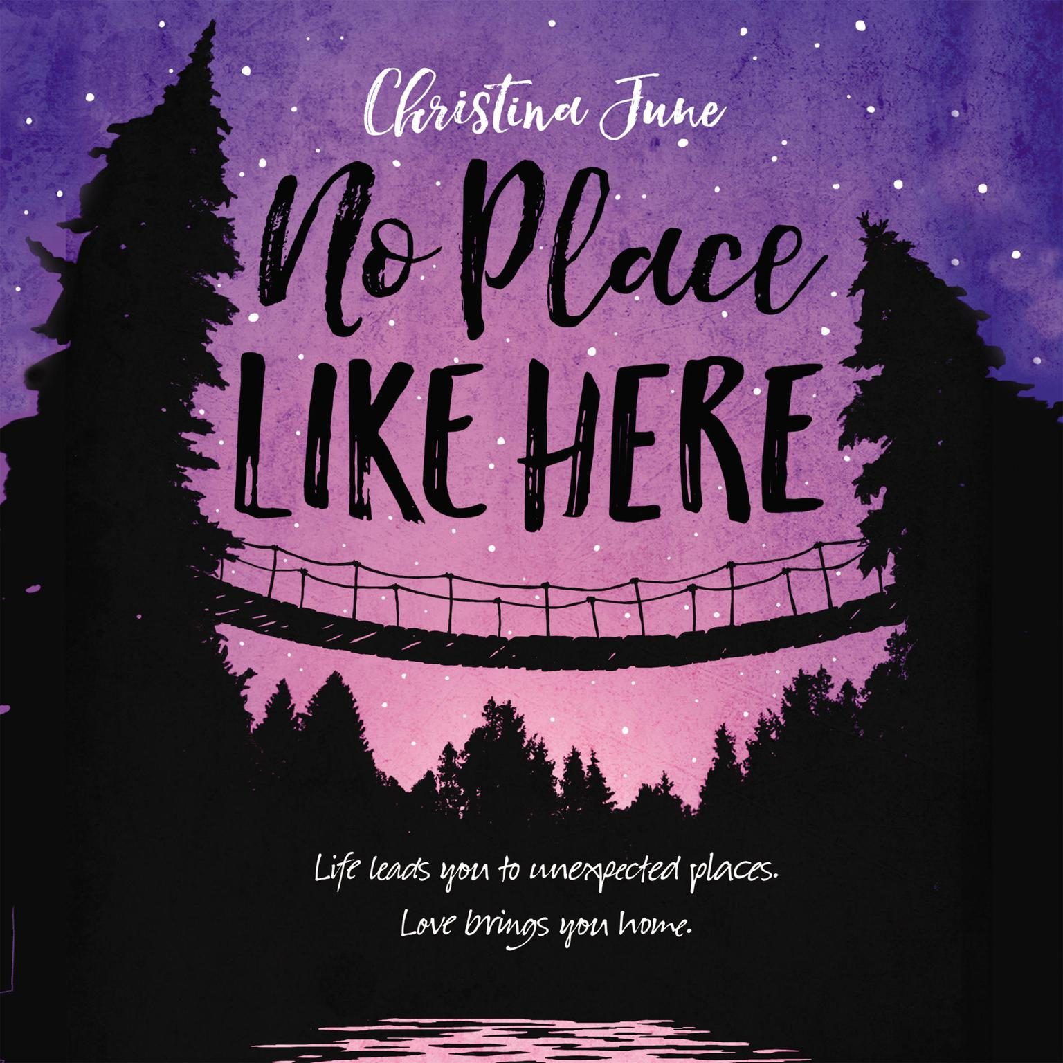Printable No Place Like Here Audiobook Cover Art