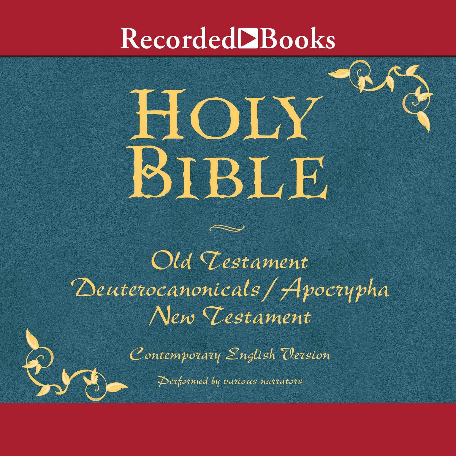 Printable The Holy Bible: Old and new Testament Audiobook Cover Art