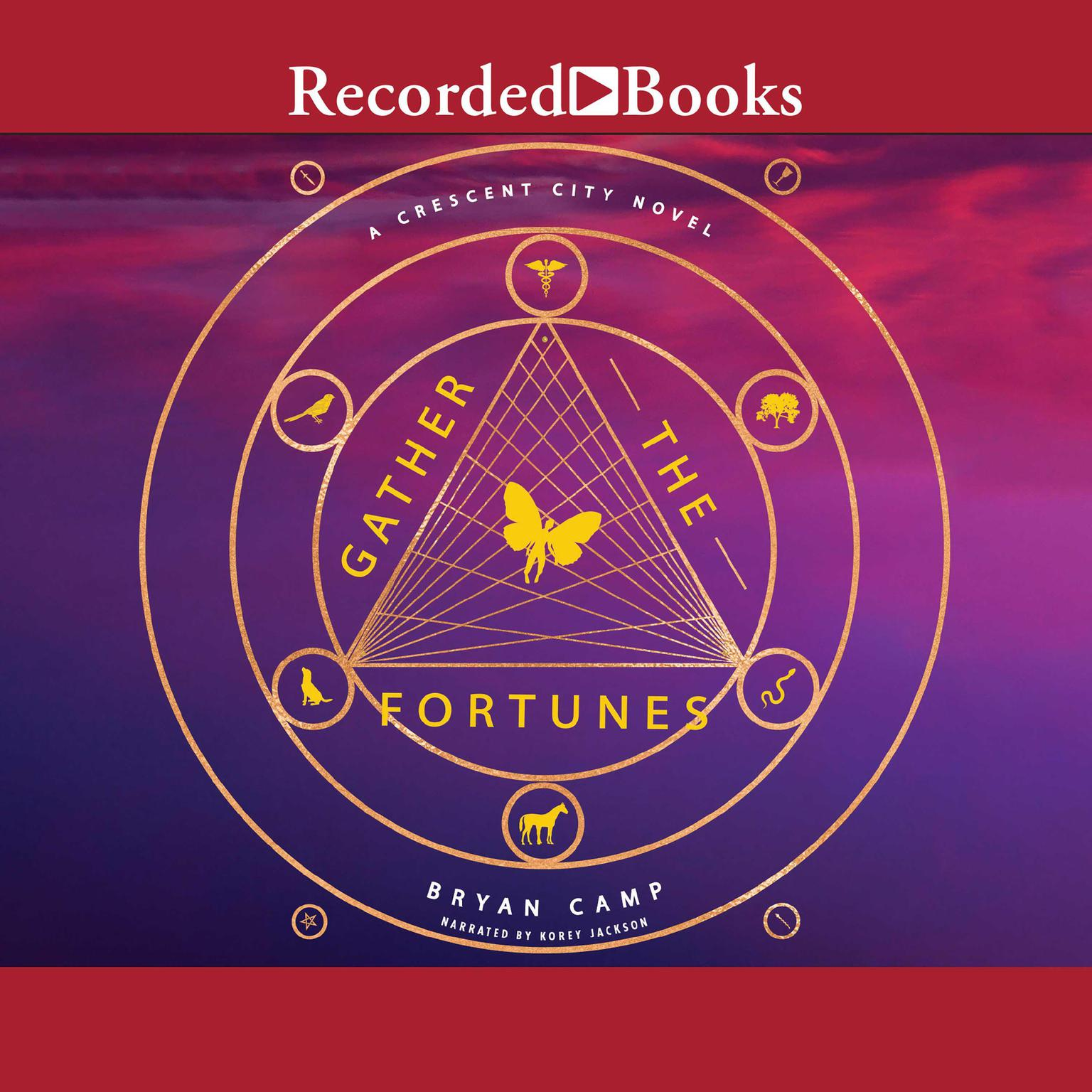 Printable Gather the Fortunes Audiobook Cover Art