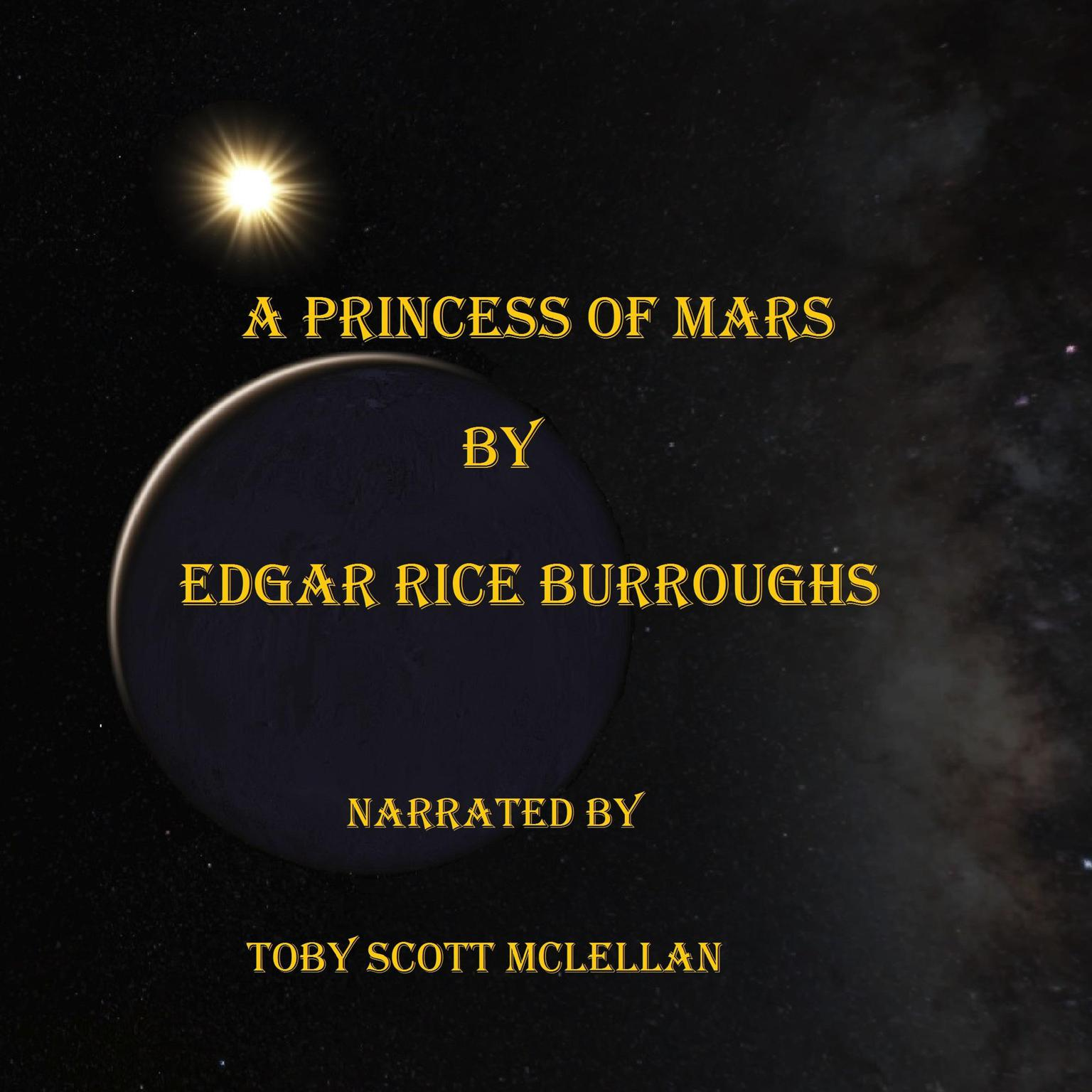 Printable A Princess of Mars Audiobook Cover Art
