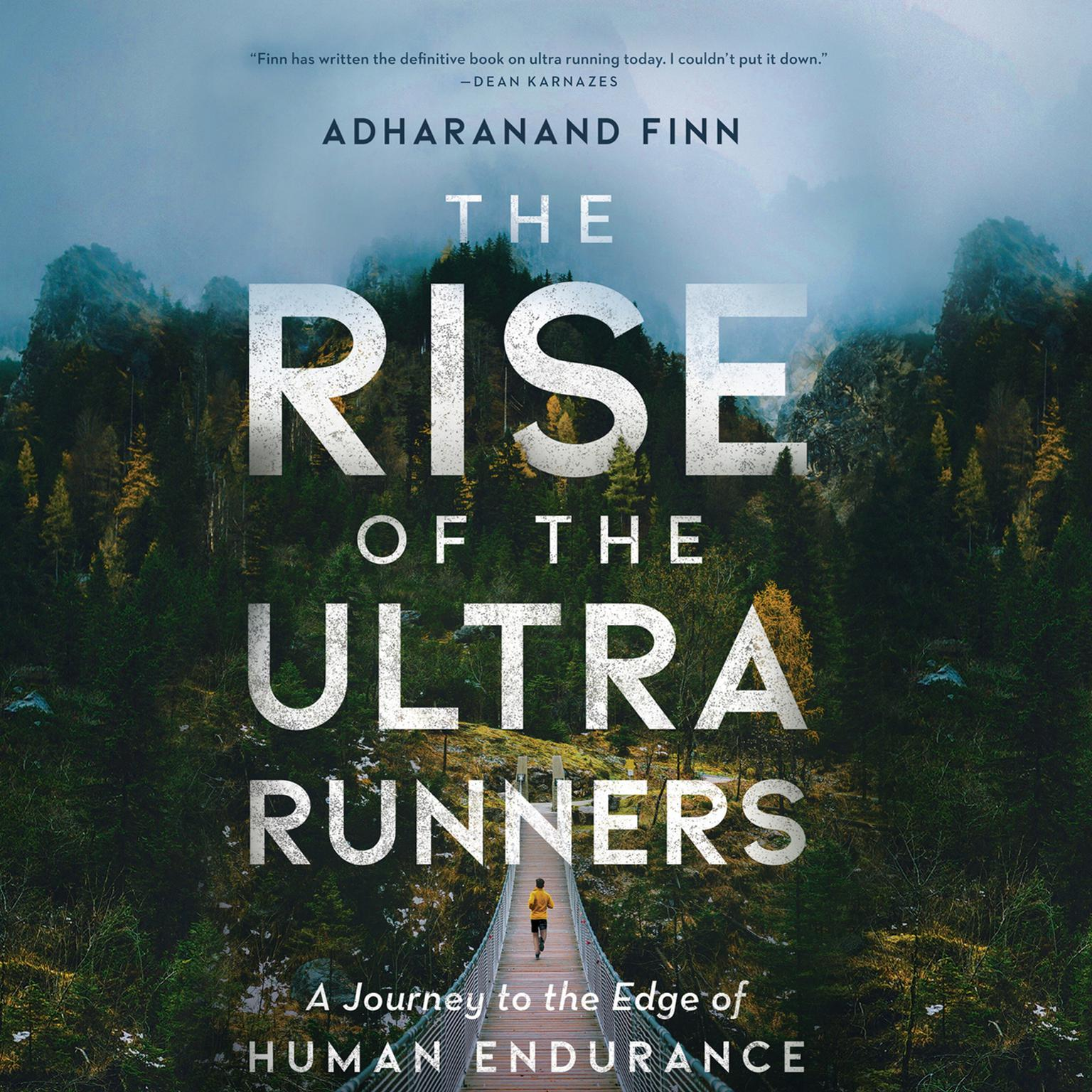 Printable The Rise of the Ultra Runners Audiobook Cover Art