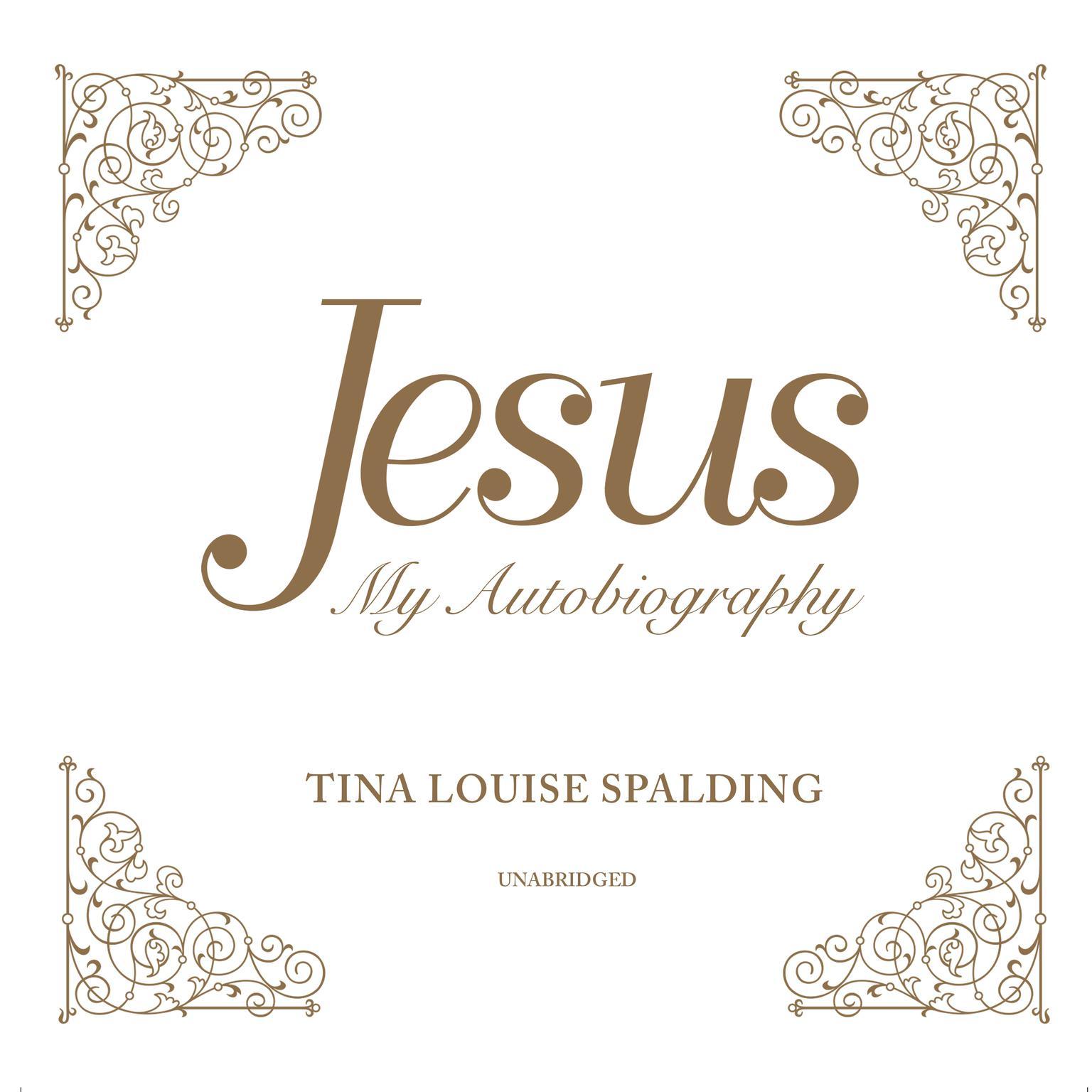 Printable Jesus: My Autobiography Audiobook Cover Art