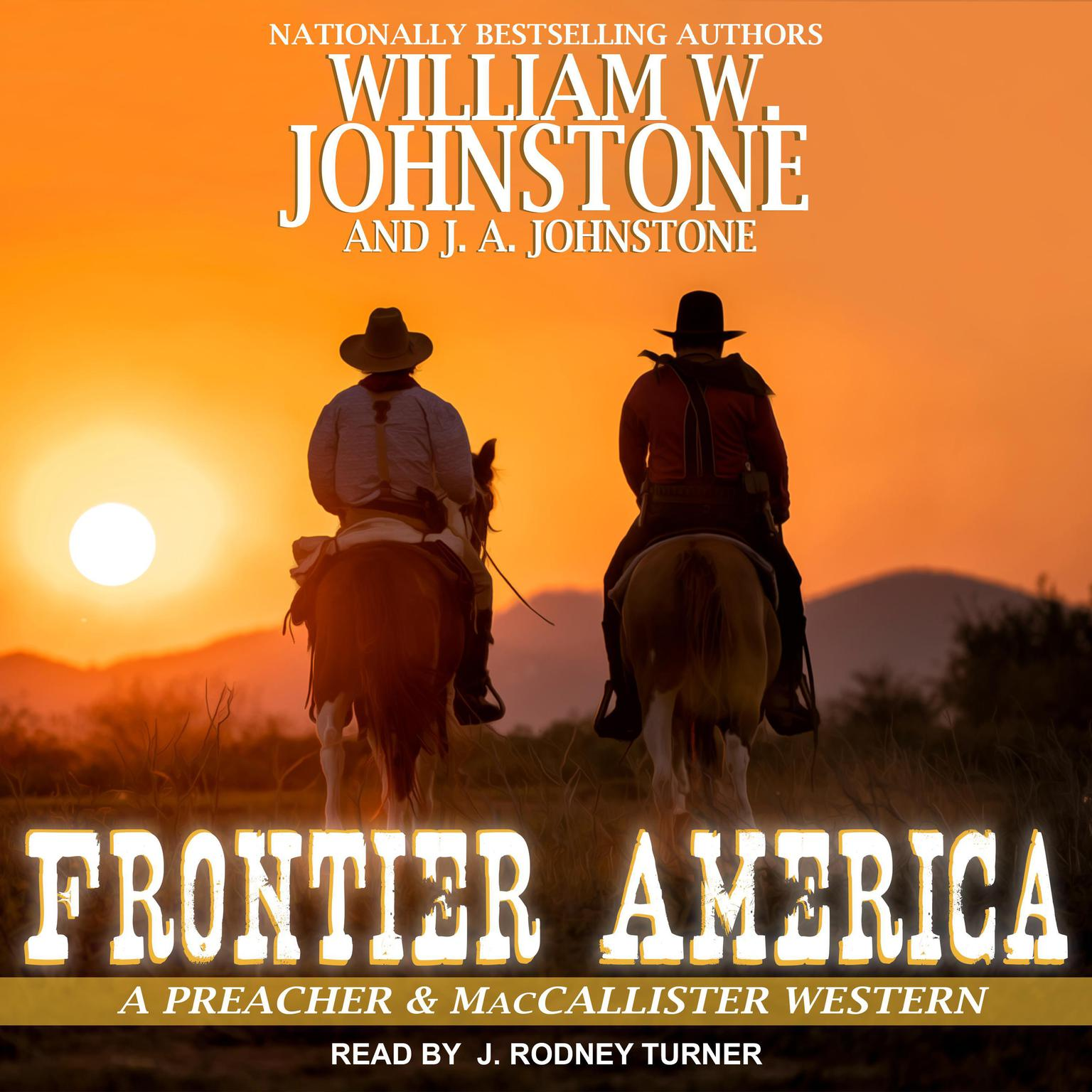 Printable Frontier America Audiobook Cover Art